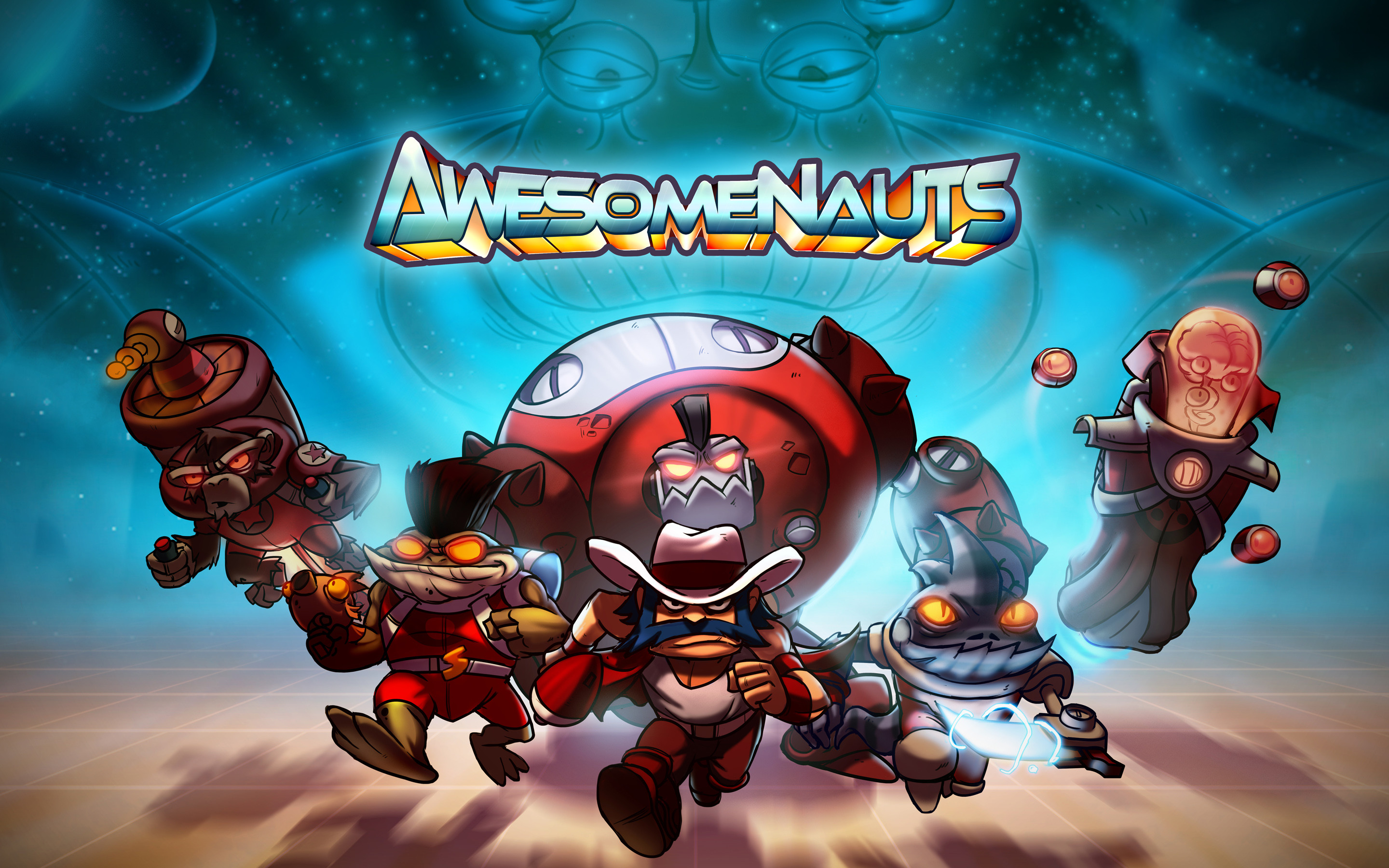 Res: 2880x1800, Awesomenauts Video Game