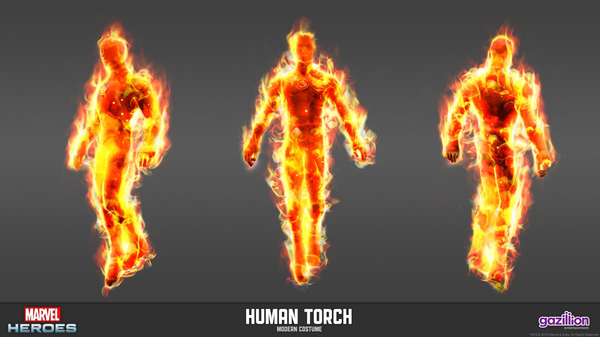 Res: 1920x1080, marvel heroes human torch