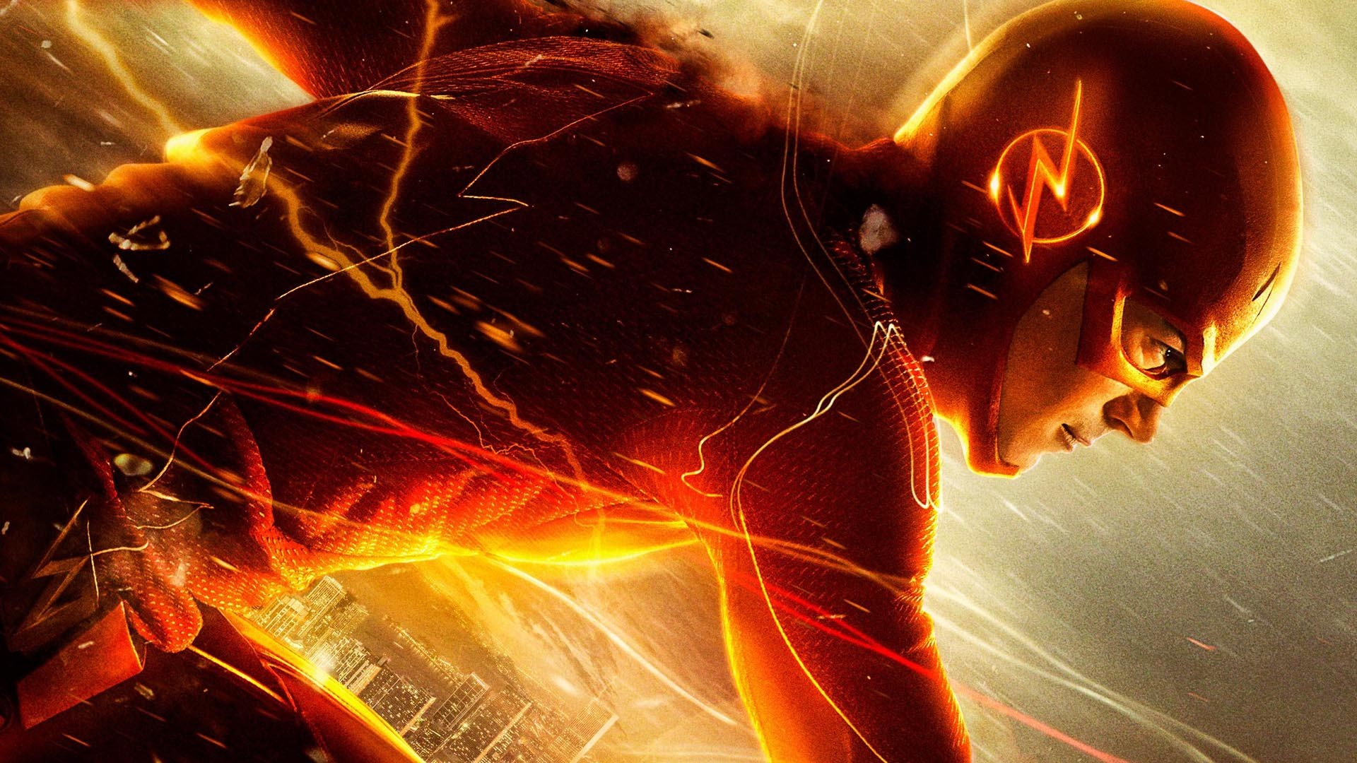 Res: 1920x1080, Flash vs Human Torch vs Antman vs Deathstroke