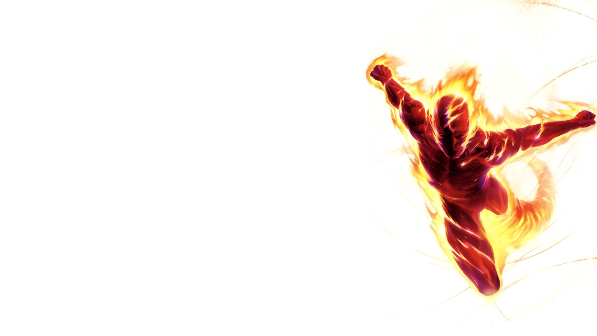 Res: 1920x1080, Comics - Human Torch Wallpaper