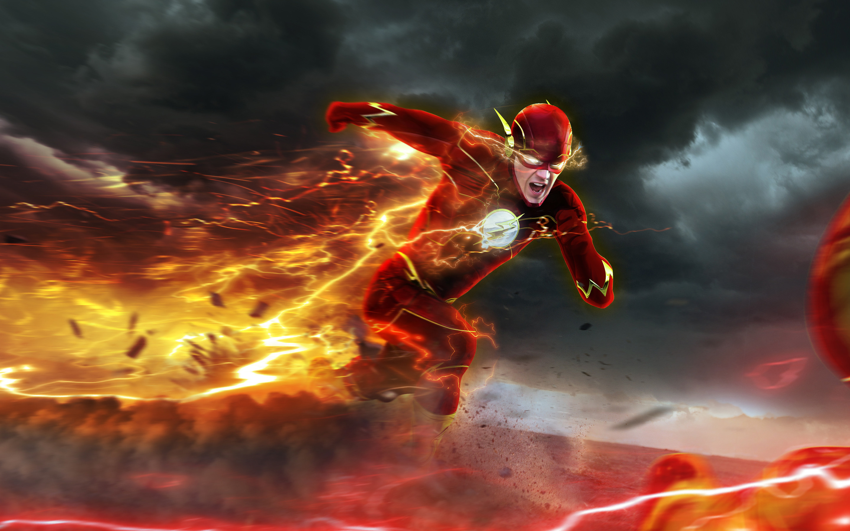 Res: 2880x1800, The Flash HD Images 5 #TheFlashHDImages #TheFlash #tvseries #wallpapers