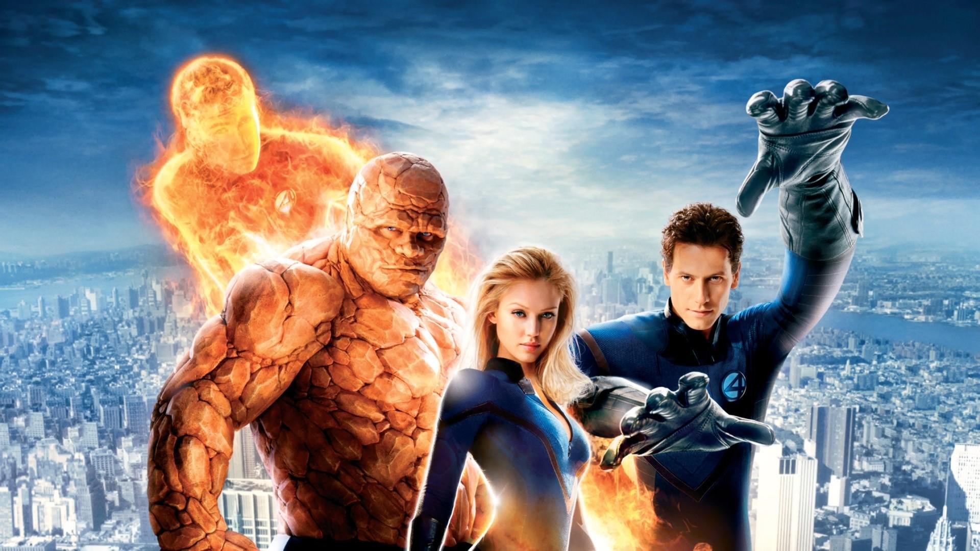 Res: 1920x1080, Fantastic Four 2005 HD. Â«Â«