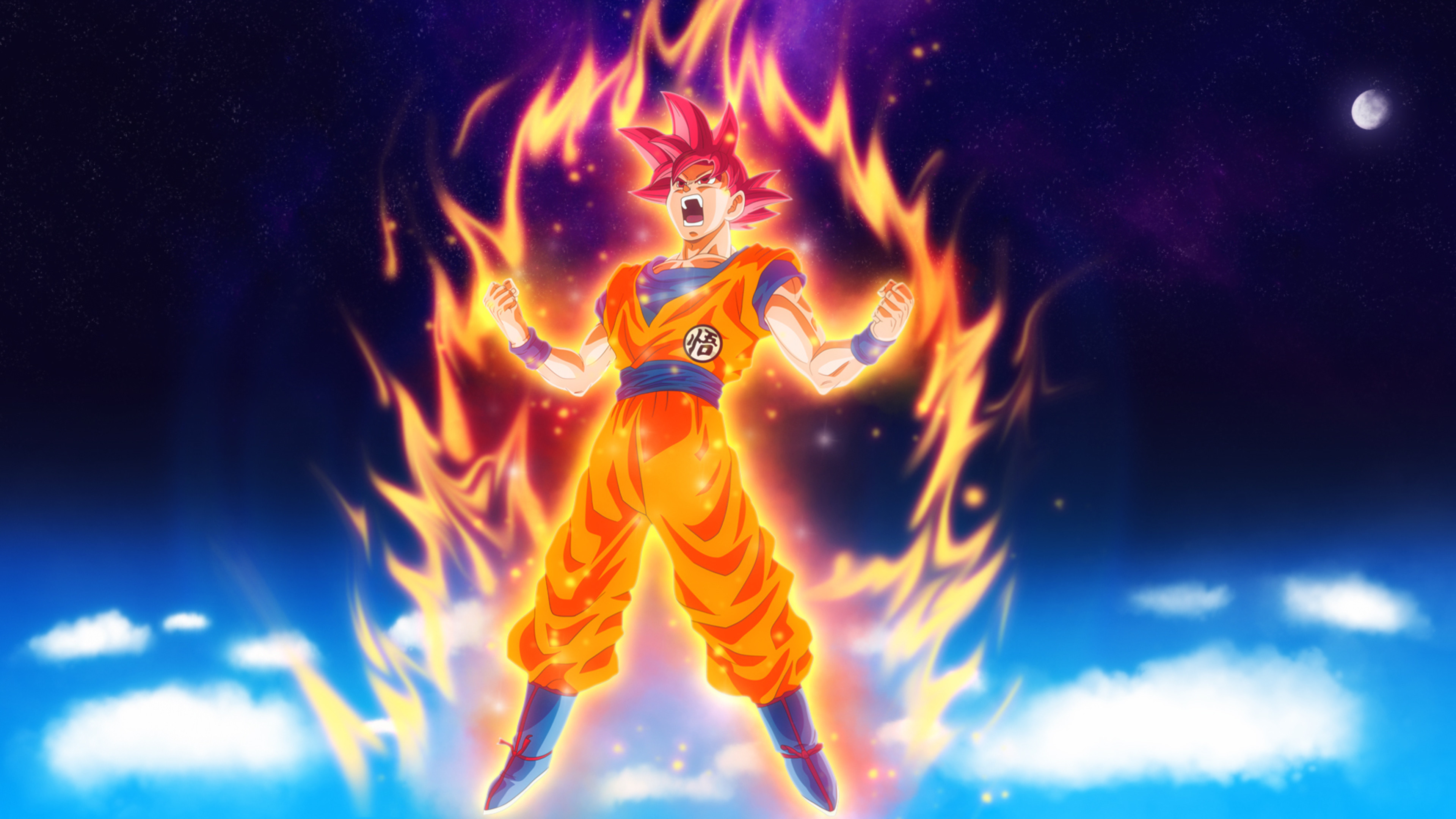 Res: 3840x2160,  Dragon Ball Z Goku 4k HD 4k Wallpapers, Images, Backgrounds,  Photos and Pictures