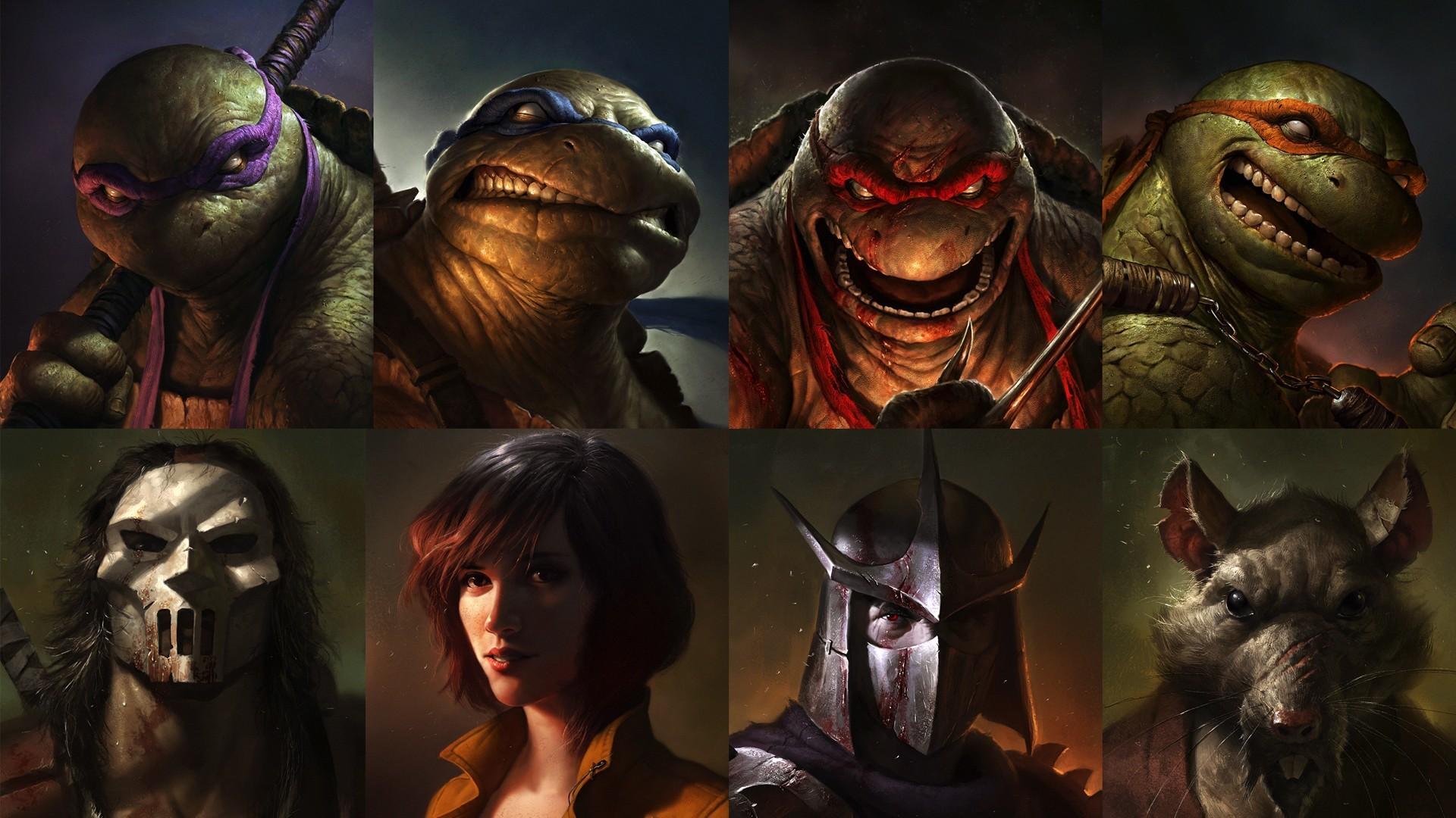 Res: 1920x1080, Teenage-Mutant-Ninja-Turtles-Scary-HD-Desktop-Wallpaper.jpg