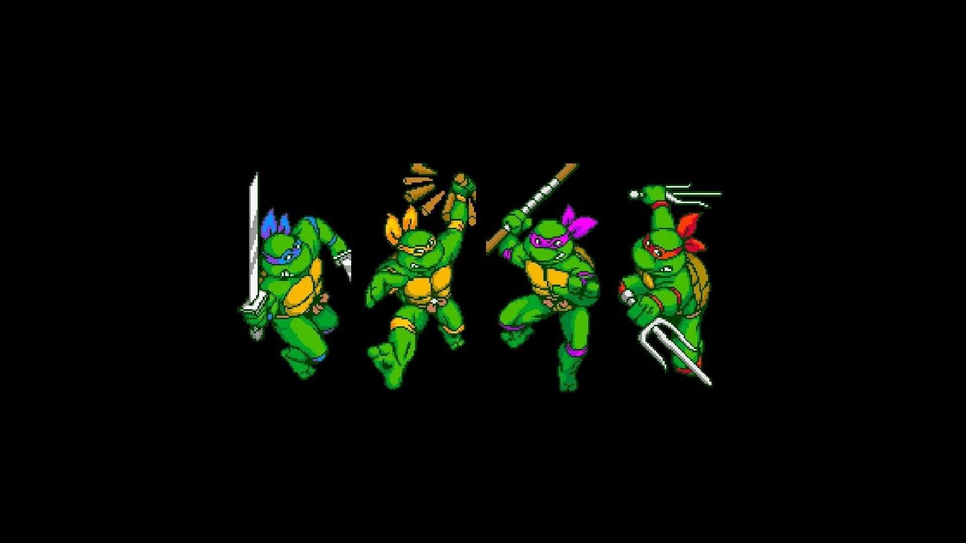 Res: 1920x1080, Video Game - Teenage Mutant Ninja Turtles IV: Turtles in Time Wallpaper