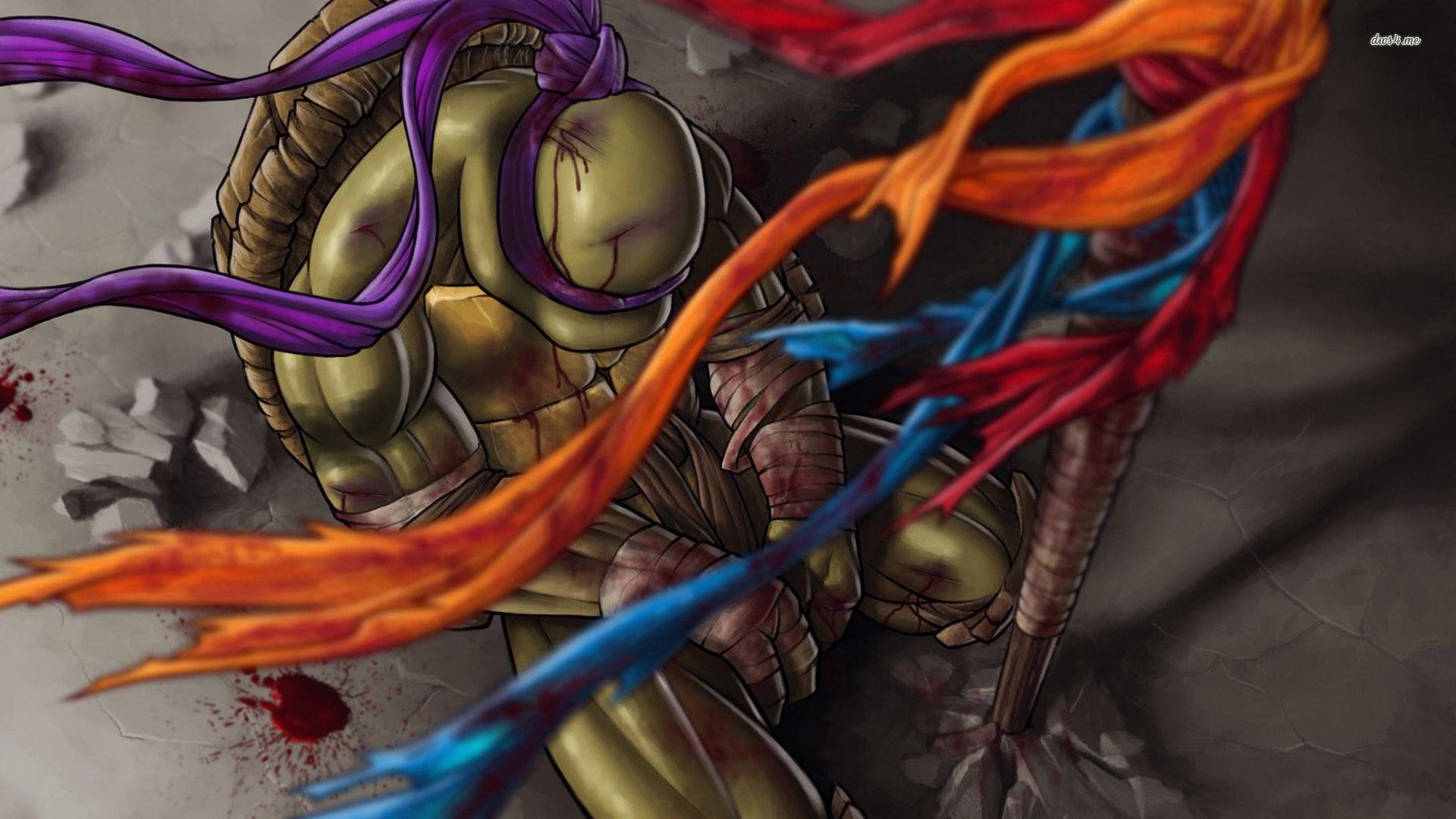 Res: 1920x1080, ... Donatello - Teenage Mutant Ninja Turtles wallpaper  ...