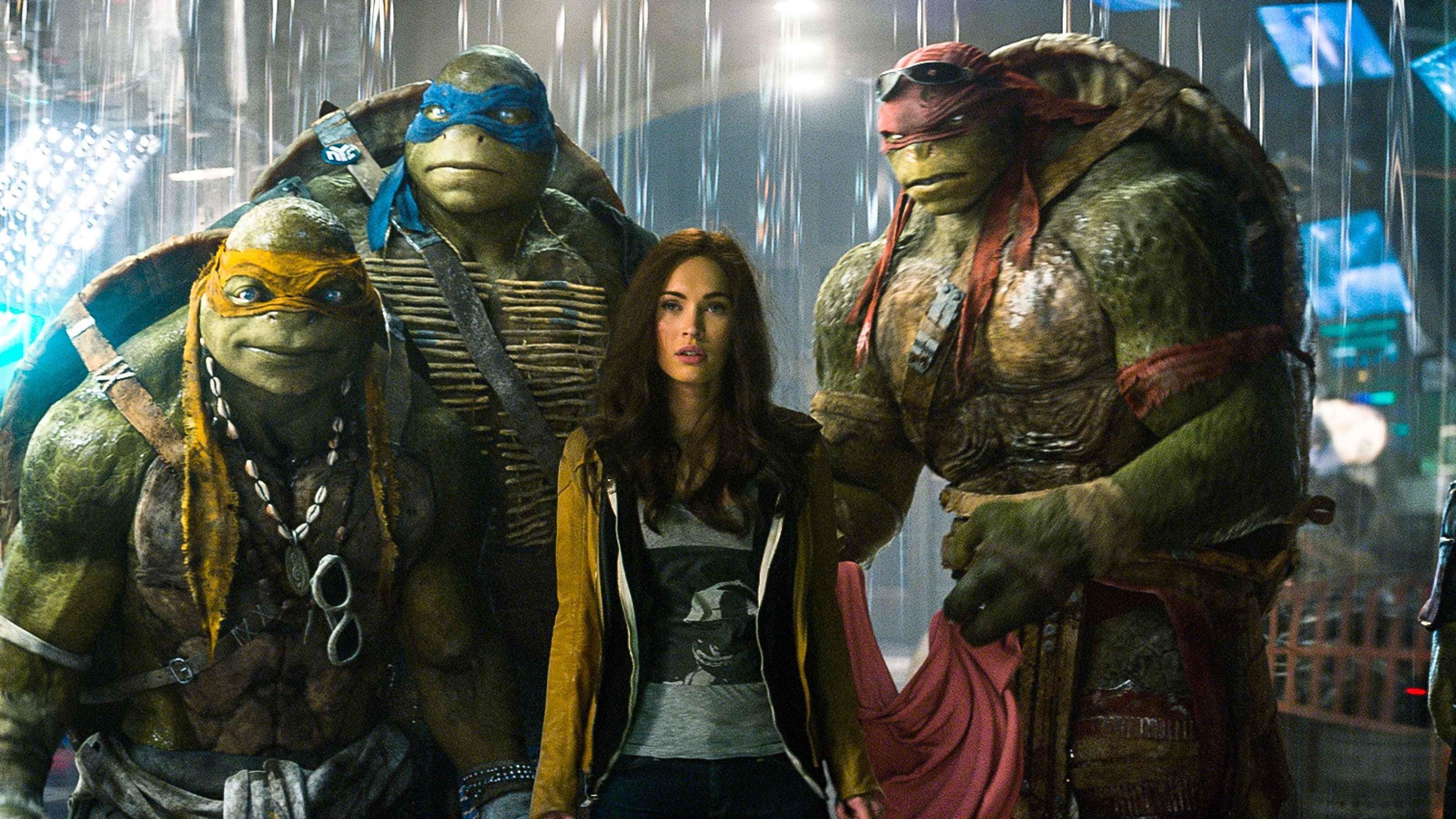 Res: 3200x1800, Teenage Mutant Ninja Turtles 2014 Film Poster | Wallpapers HD .