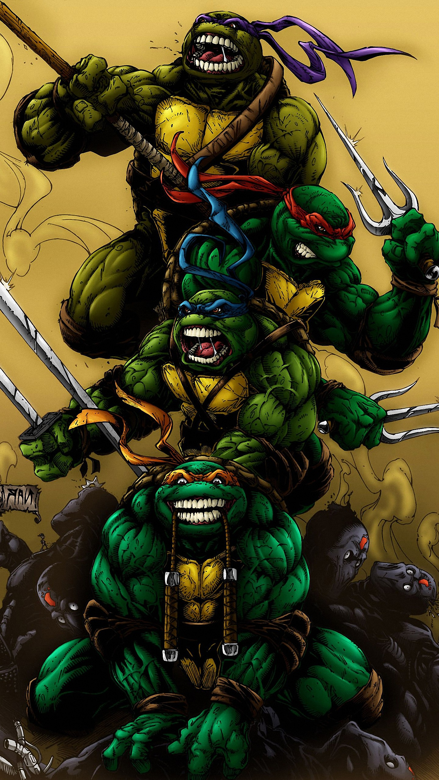 Res: 1440x2560, Teenage Mutant Ninja Turtles Wallpaper