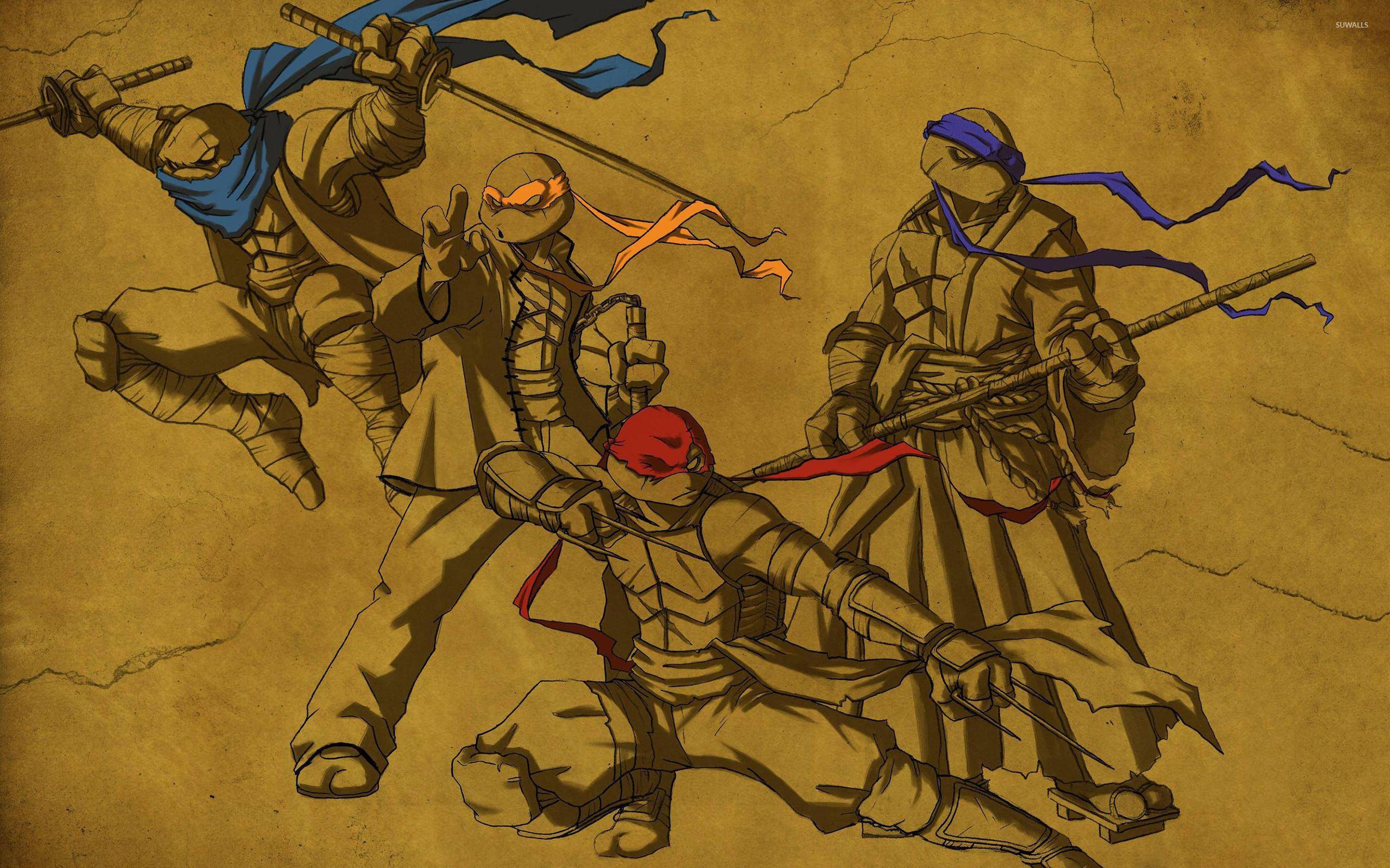 Res: 2560x1600, Teenage Mutant Ninja Turtles [3] wallpaper  jpg