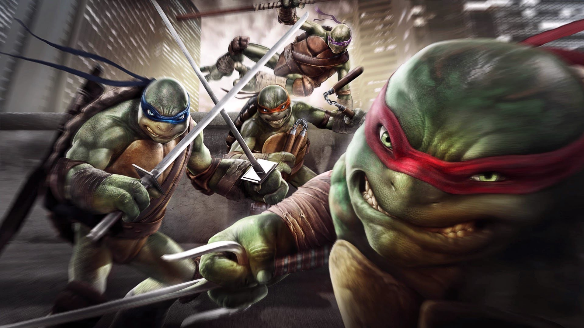 Res: 1920x1080, Découverte | Teenage Mutant Ninja Turtles: Attention au mutagène - YouTube