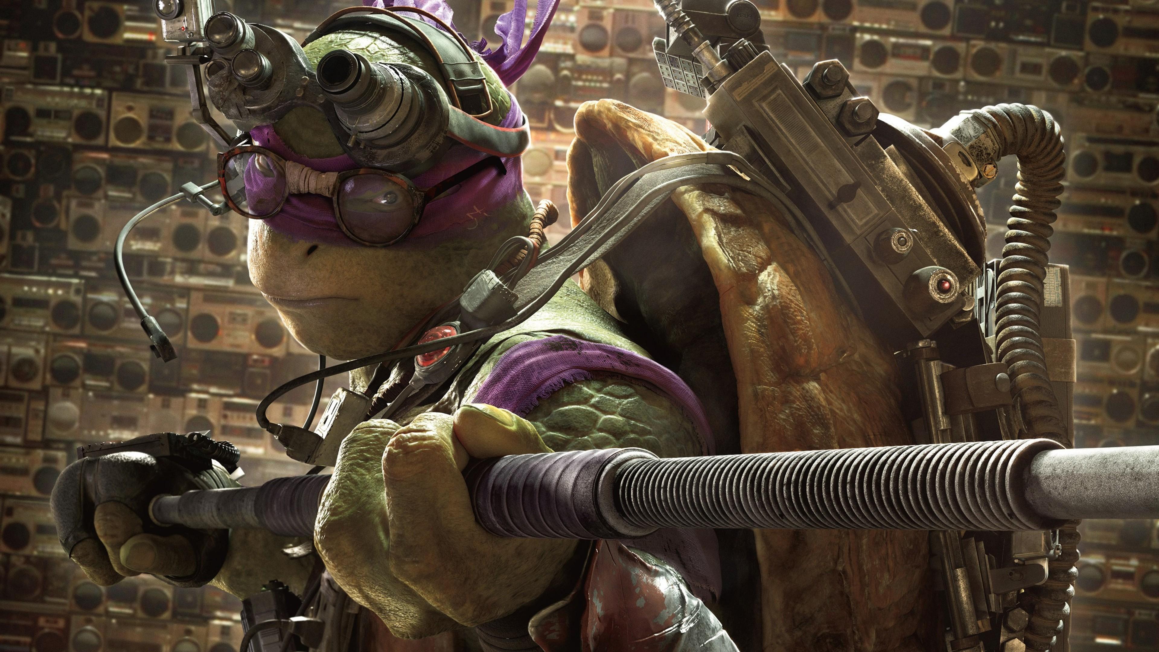 Res: 3840x2160, Donnie In Teenage Mutant Ninja Turtles
