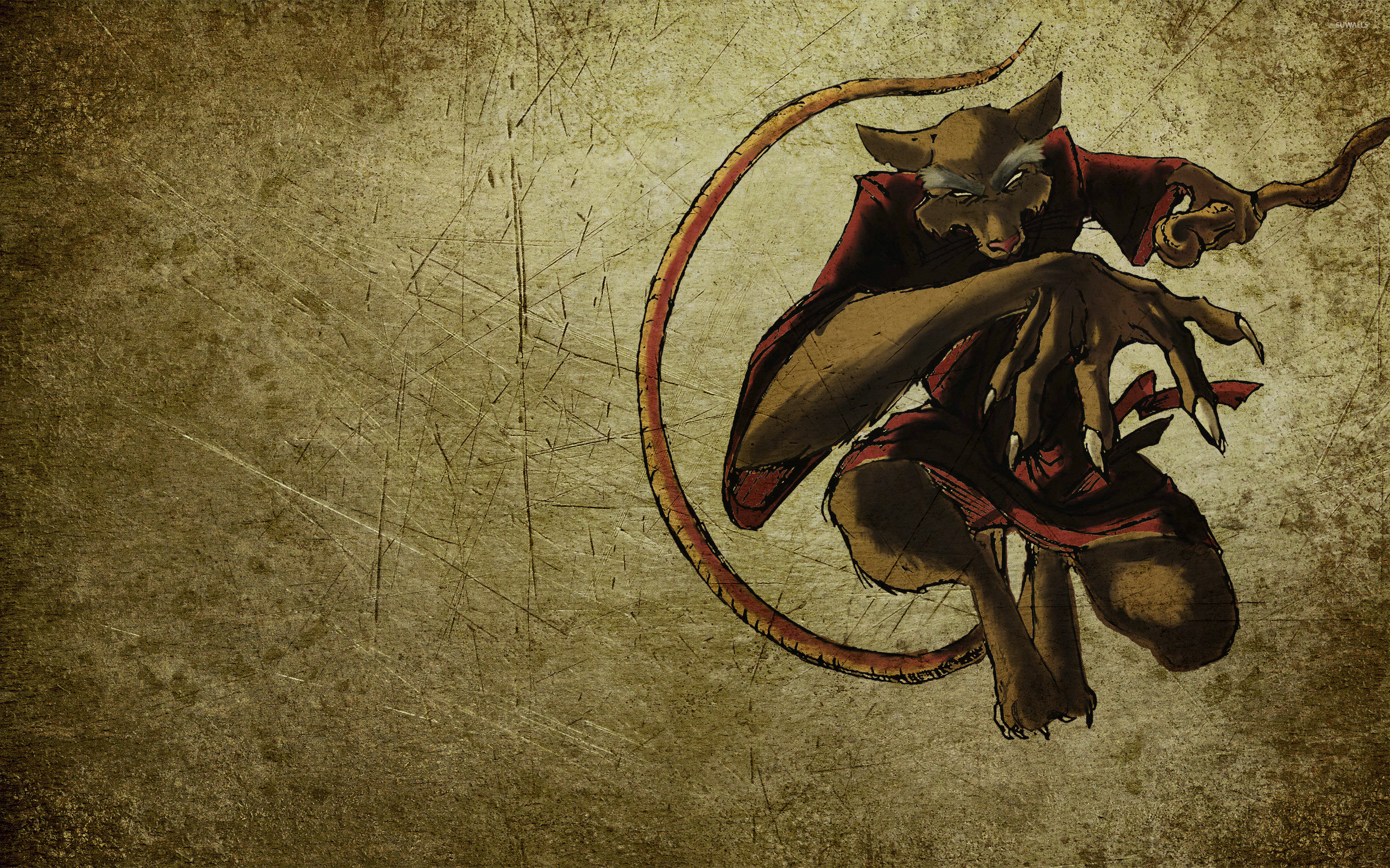 Res: 2560x1600, Splinter - Teenage Mutant Ninja Turtles wallpaper