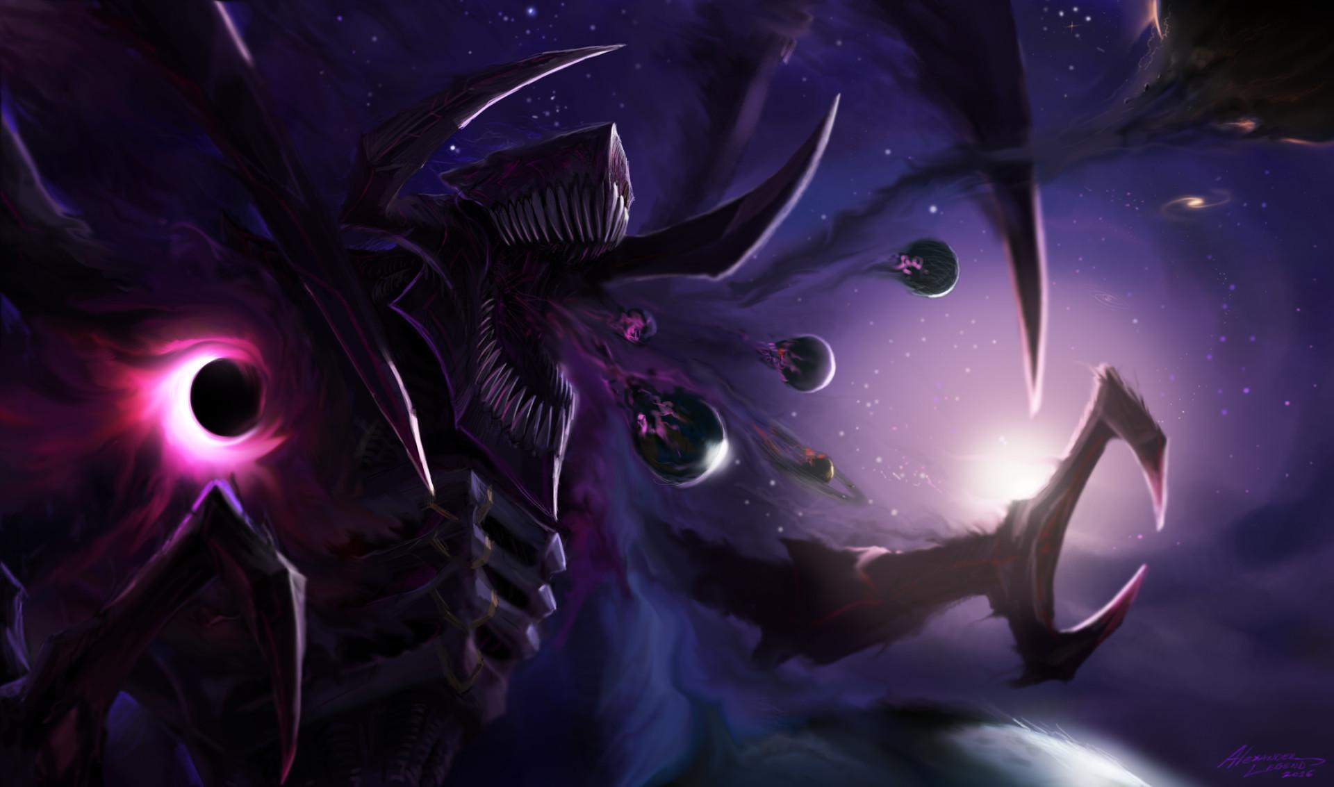 Res: 1920x1133, Dark Star Cho'Gath by Alexander Peña Flores (xpost /r/ImaginaryWorldEaters)  ...