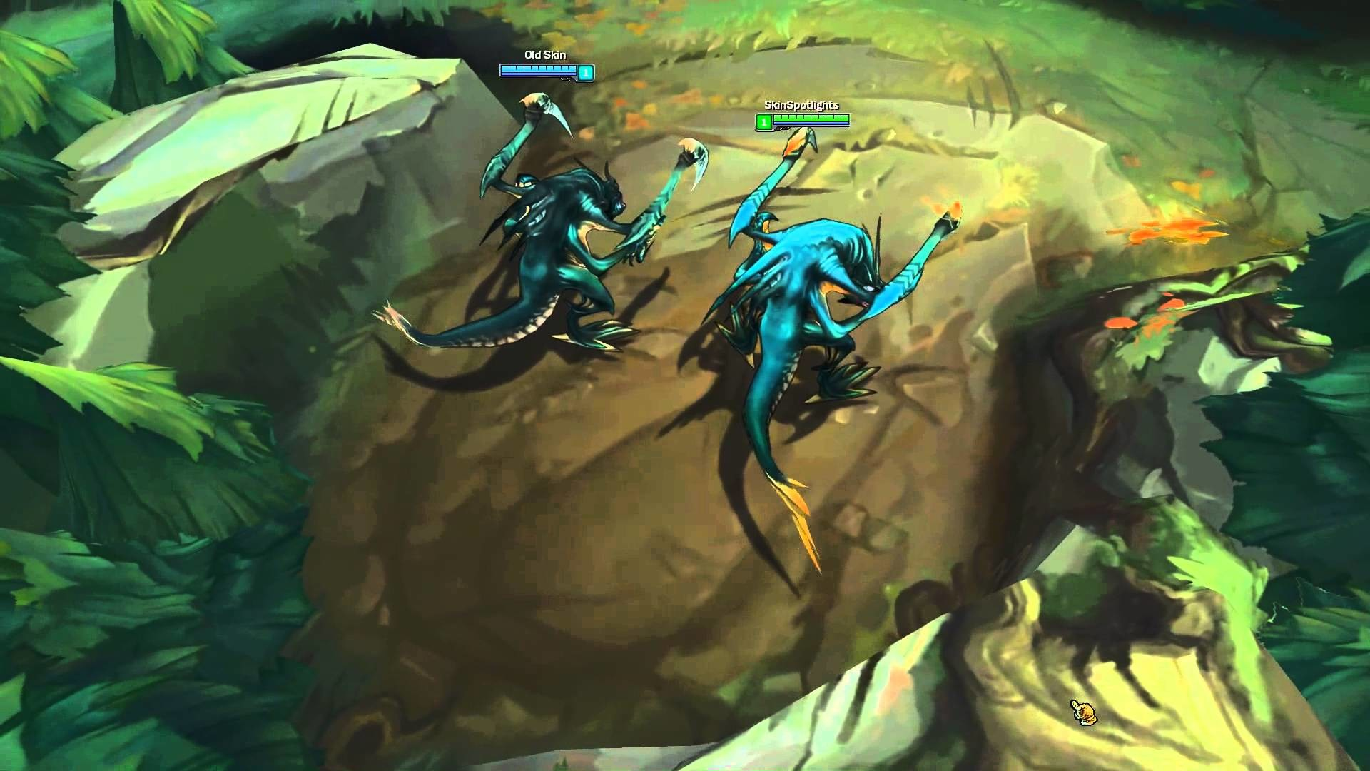 Res: 1920x1080, Cho'Gath Part 1 - 2015 Update - All Affected Skins