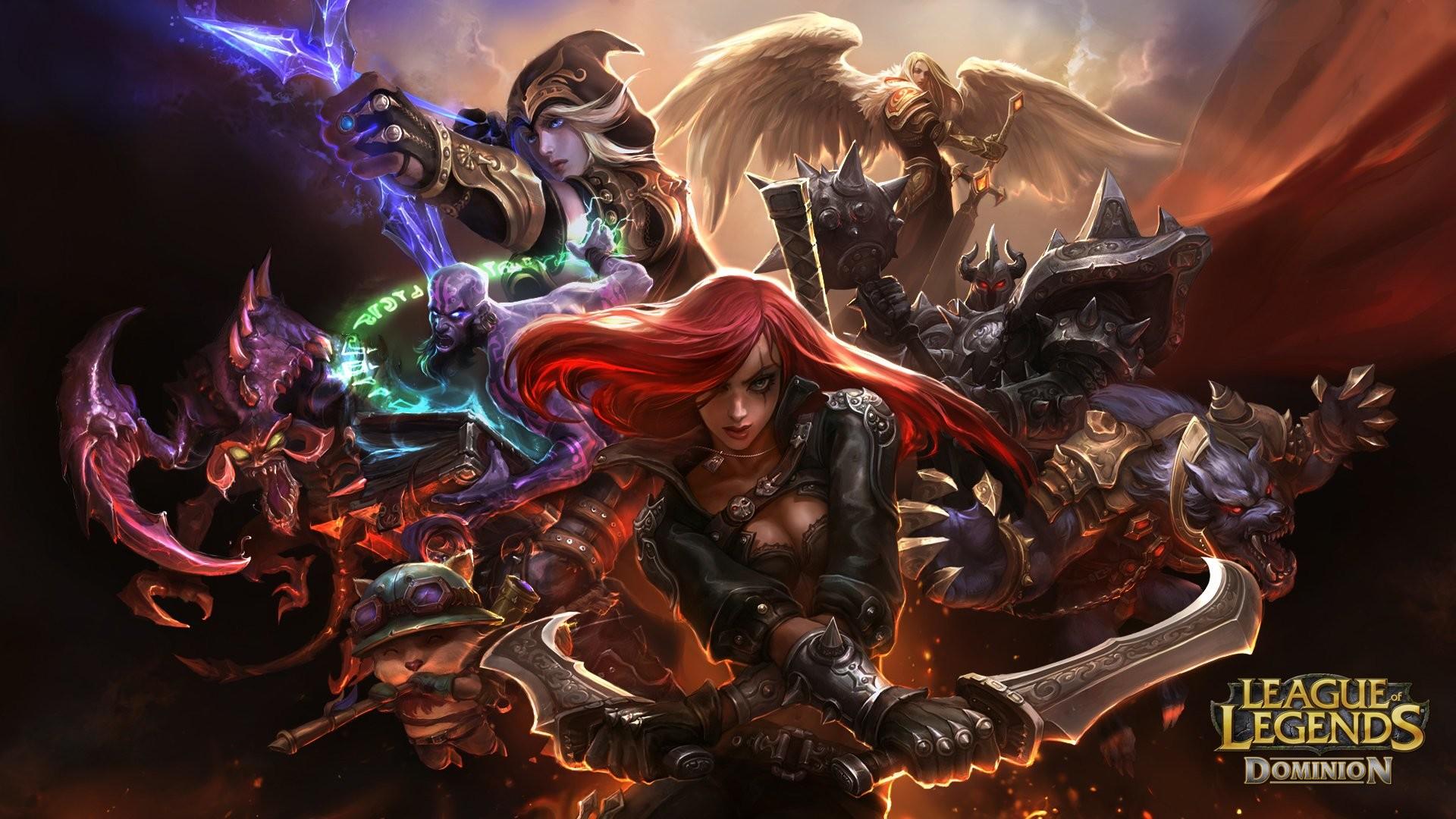 Res: 1920x1080, Computerspiele - League Of Legends Katarina (League Of Legends) Warwick  (League Of Legends