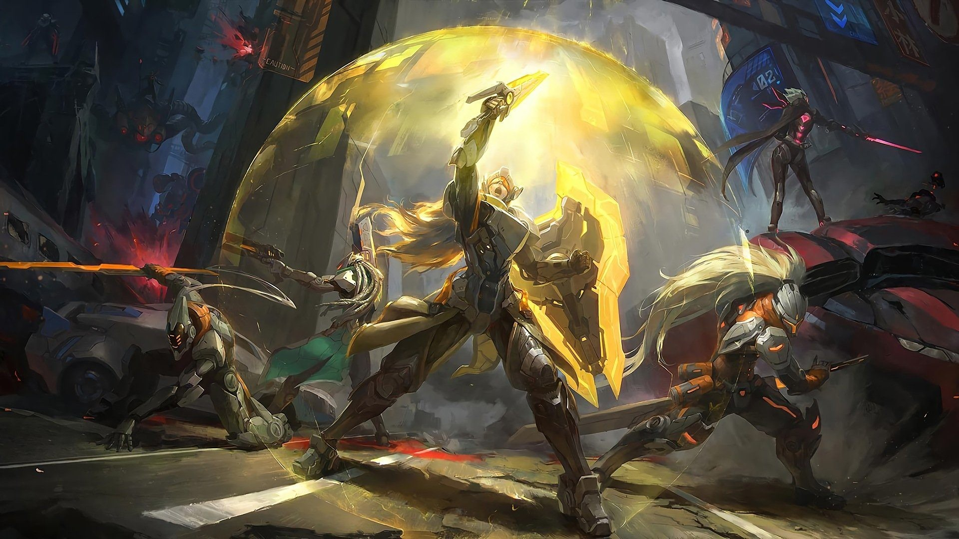 Res: 1920x1080, Download League Of Legends Master Yi (League Of Legends) Lucian (League Of  Legends) Fiora (League Of Legends) Leona (League Of Legends) Yasuo (League  Of ...