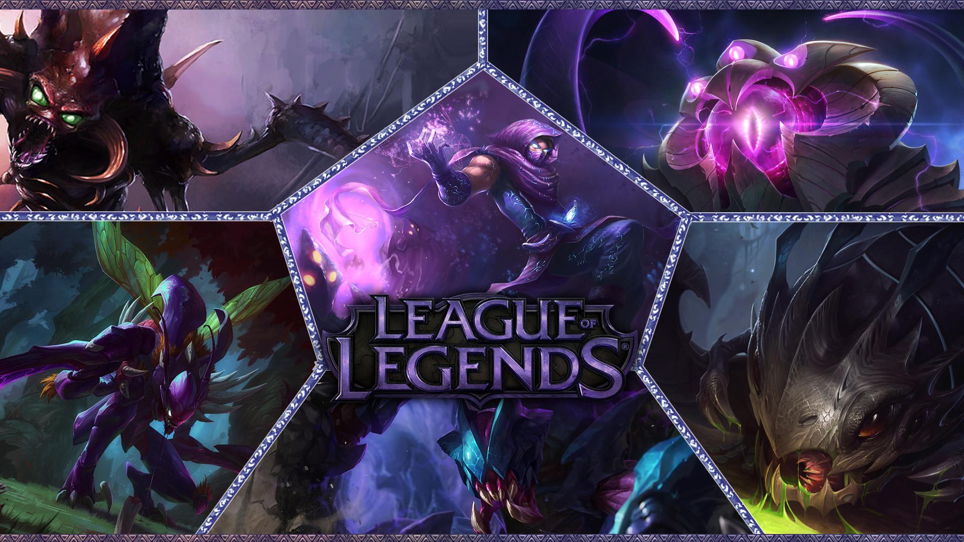 Res: 1920x1080, Datorspel - League Of Legends Cho'gath (League Of Legends) Malzahar (League