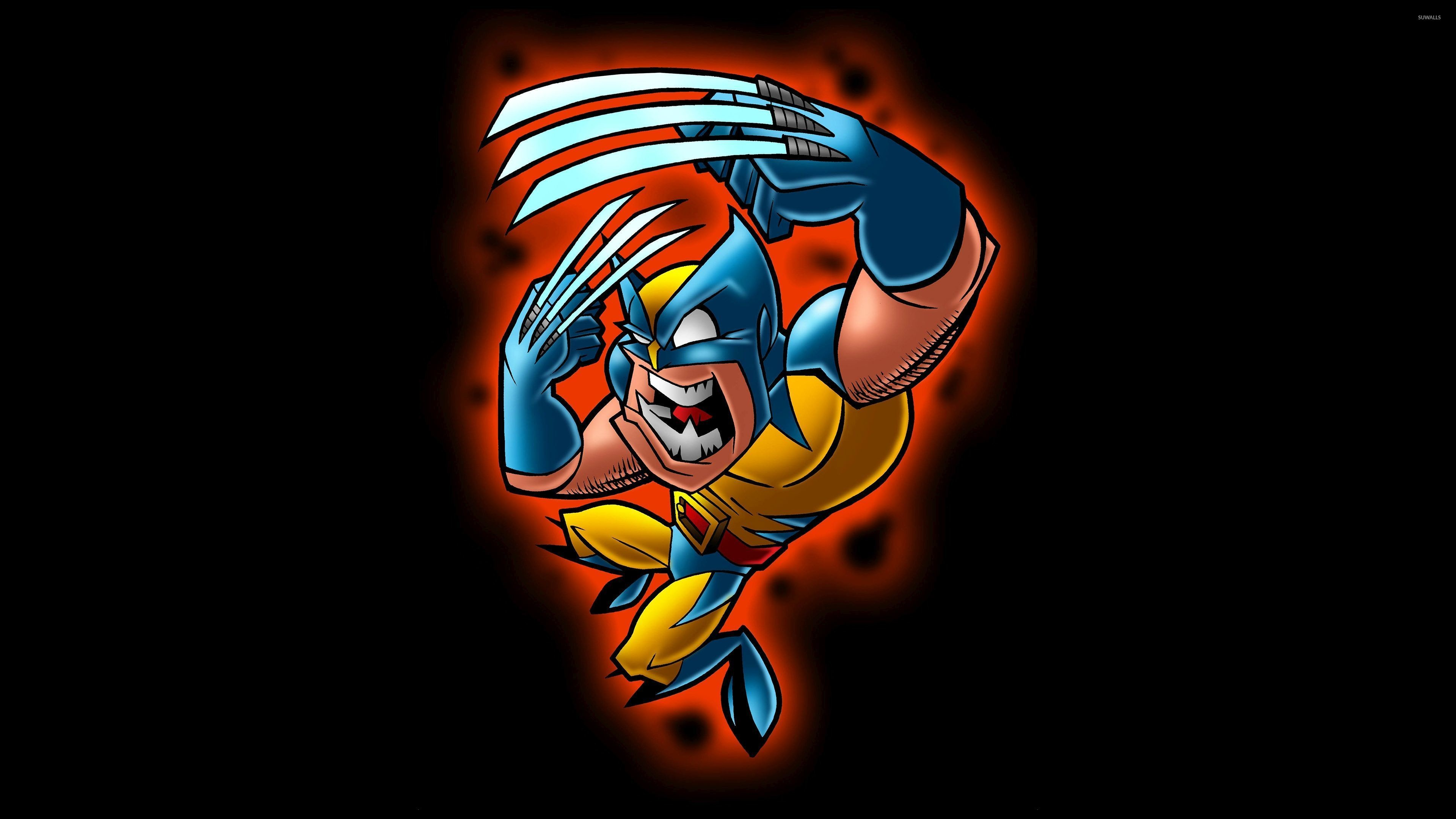 Res: 3840x2160, Funny Wolverine wallpaper