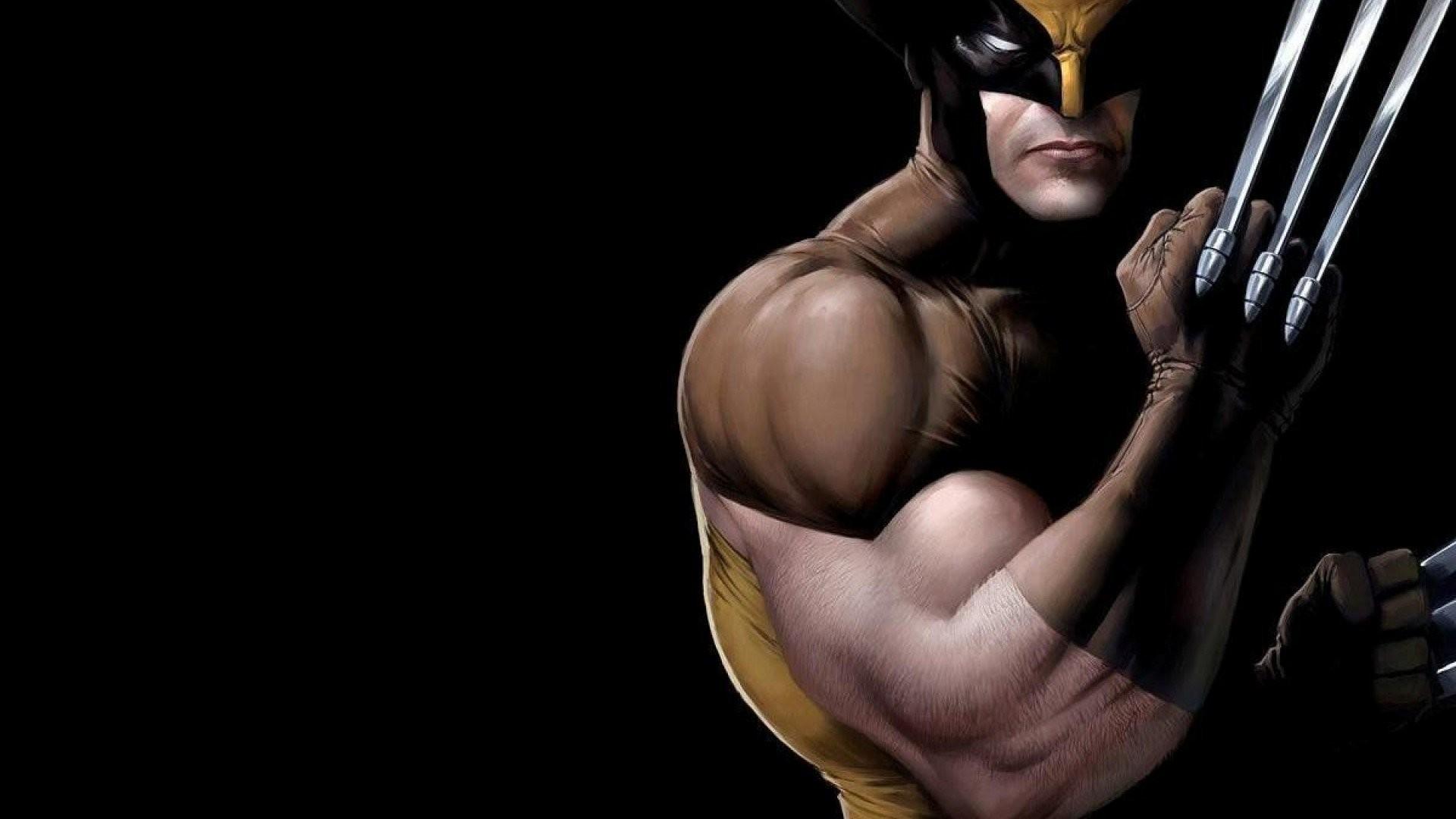 Res: 1920x1080, Dark Wolverine Wallpaper 1080p
