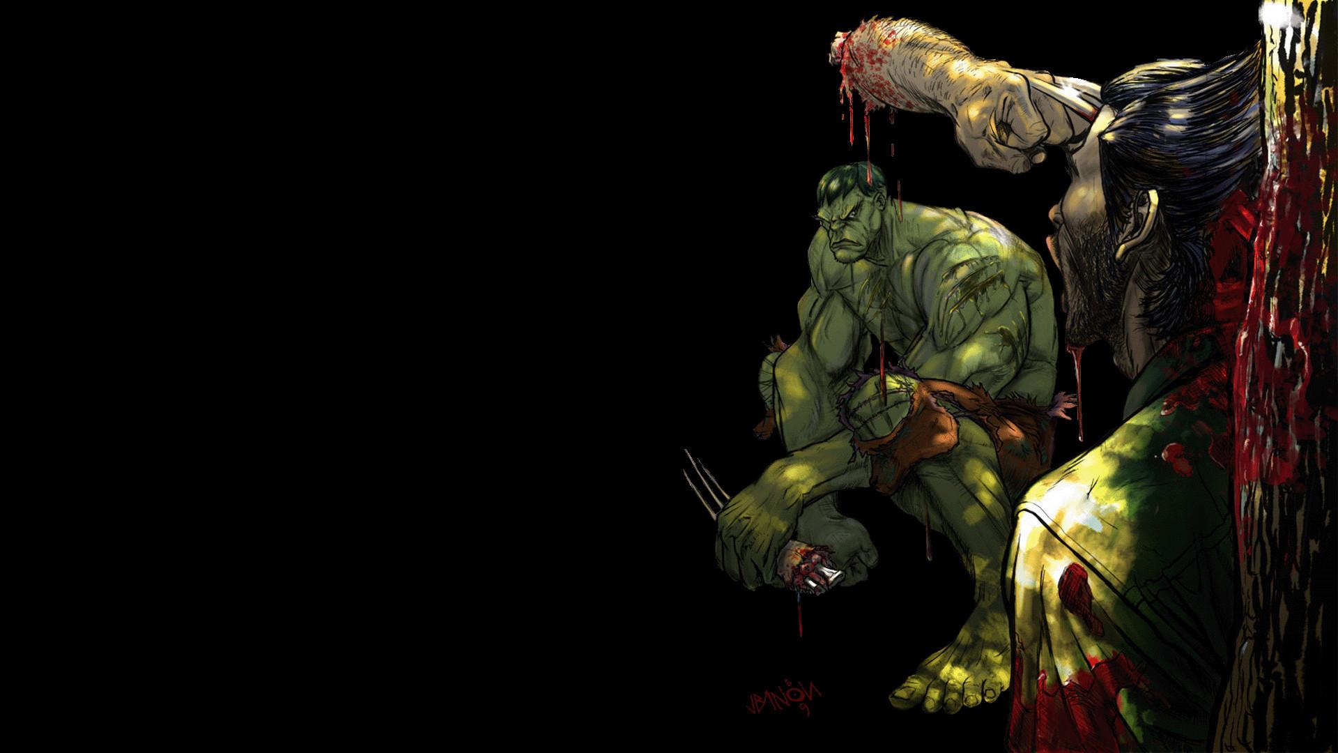 Res: 1920x1080, hulk vs wolverine 748920
