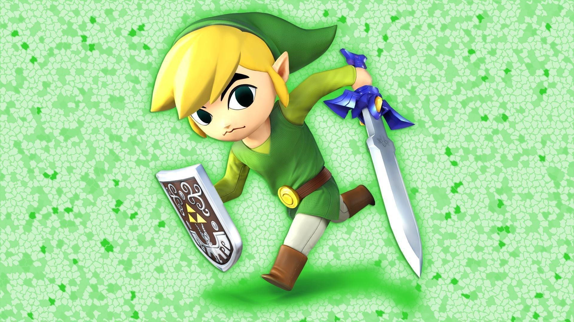 Res: 1920x1080,  Pix For > Toon Link Wallpaper