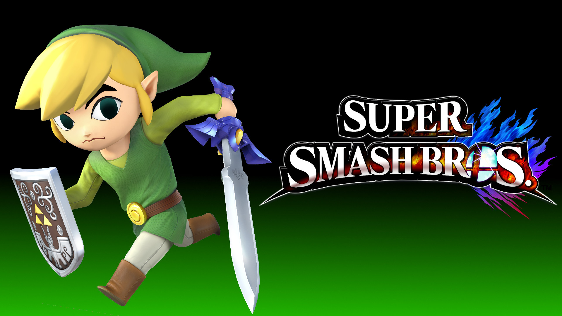 Res: 1920x1080, 4 Wallpaper - Toon Link by TheWolfGalaxy