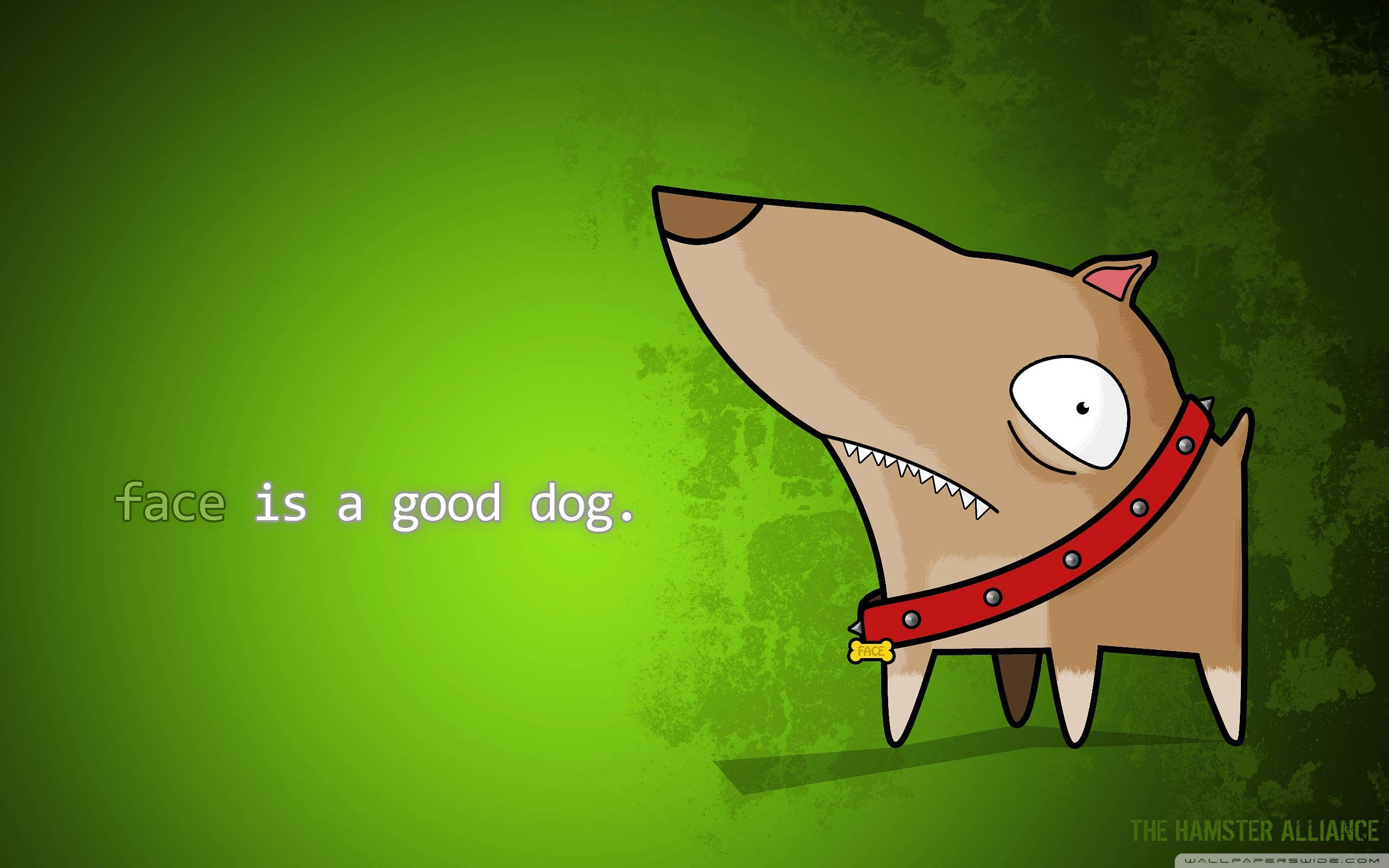 Res: 2560x1600, Cartoon Dog Wallpaper