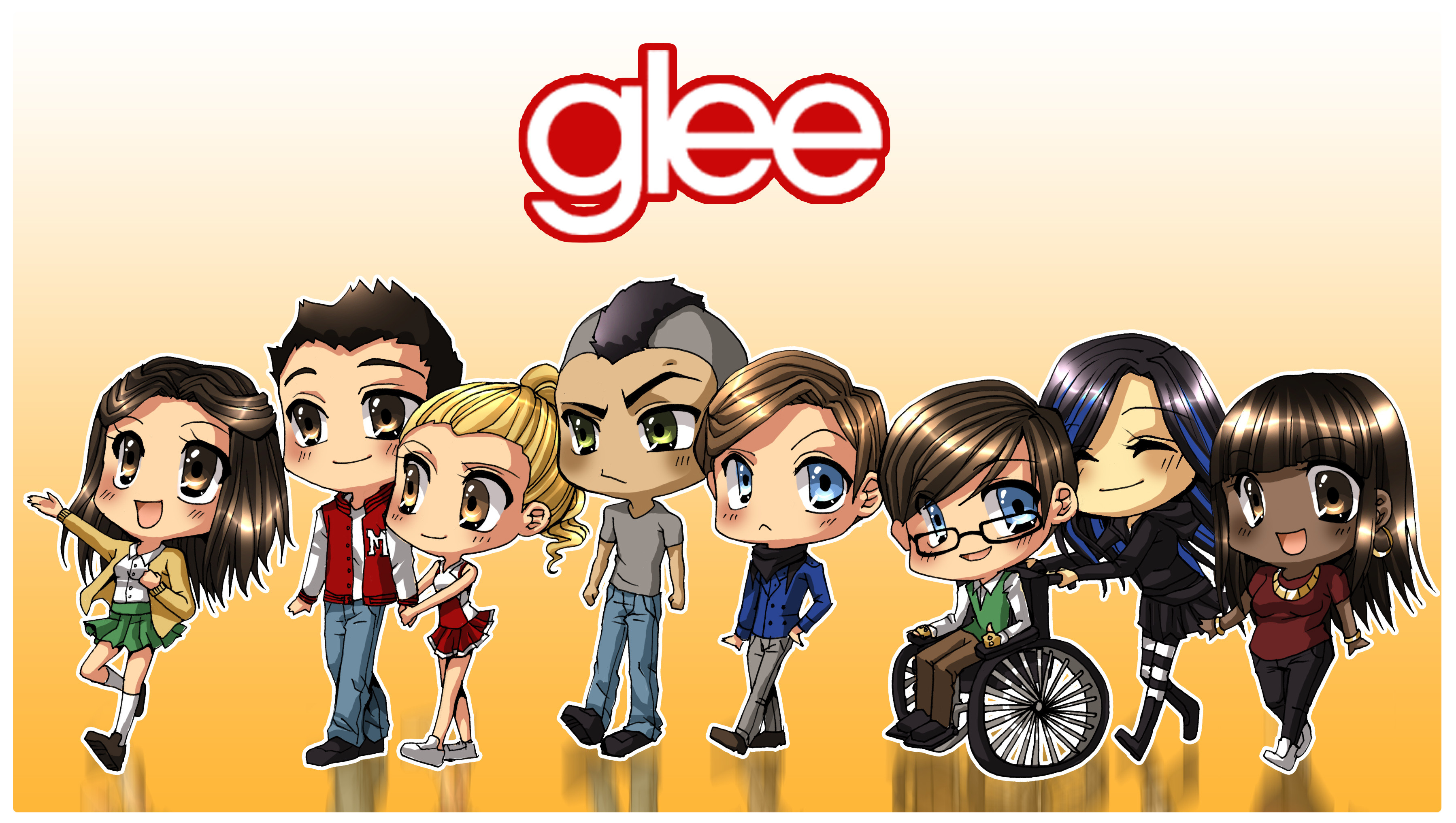 Res: 3596x2032, Glee Wallpapers