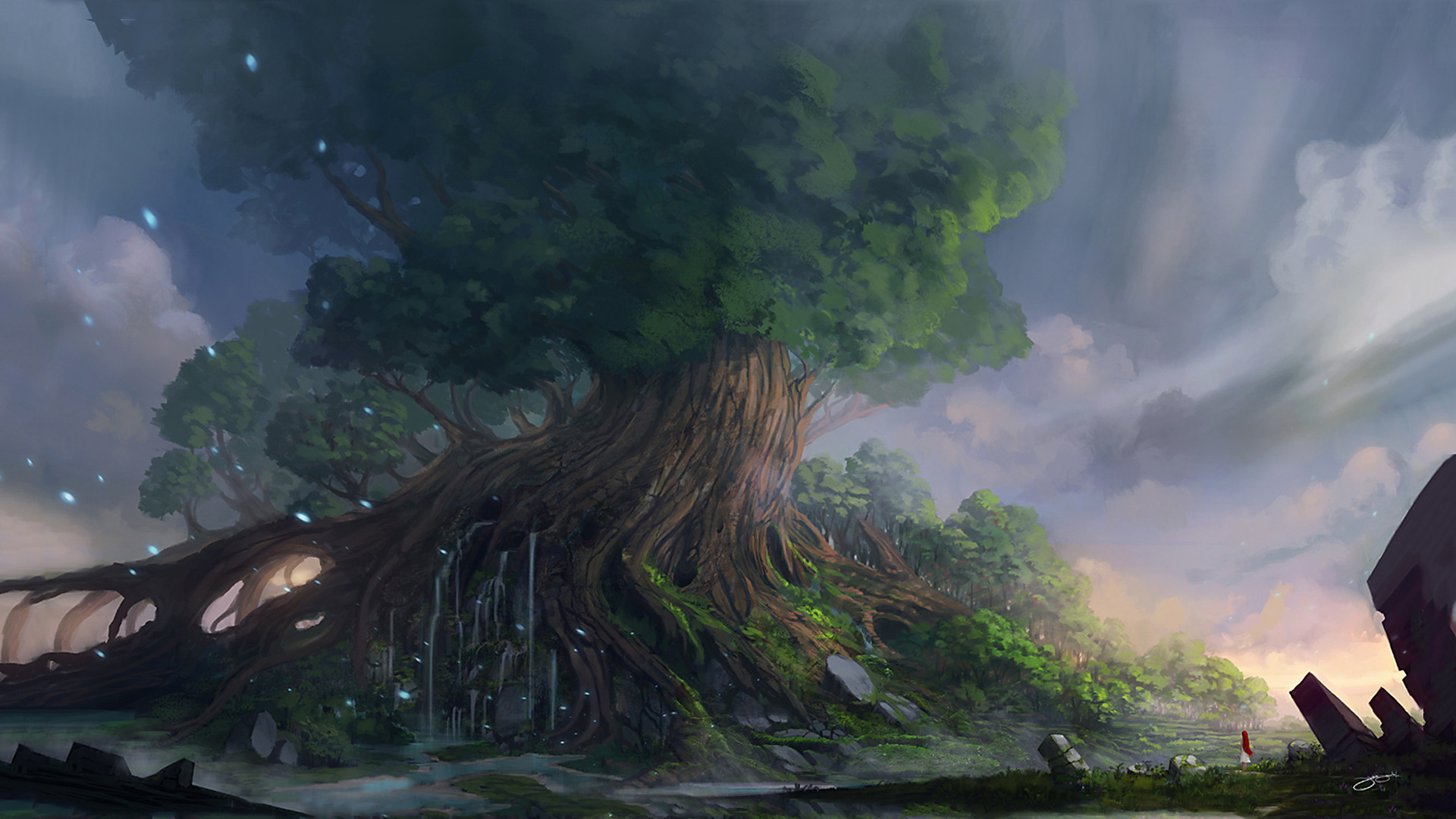 Res: 1920x1080, Yggdrasil Images HD Wallpapers