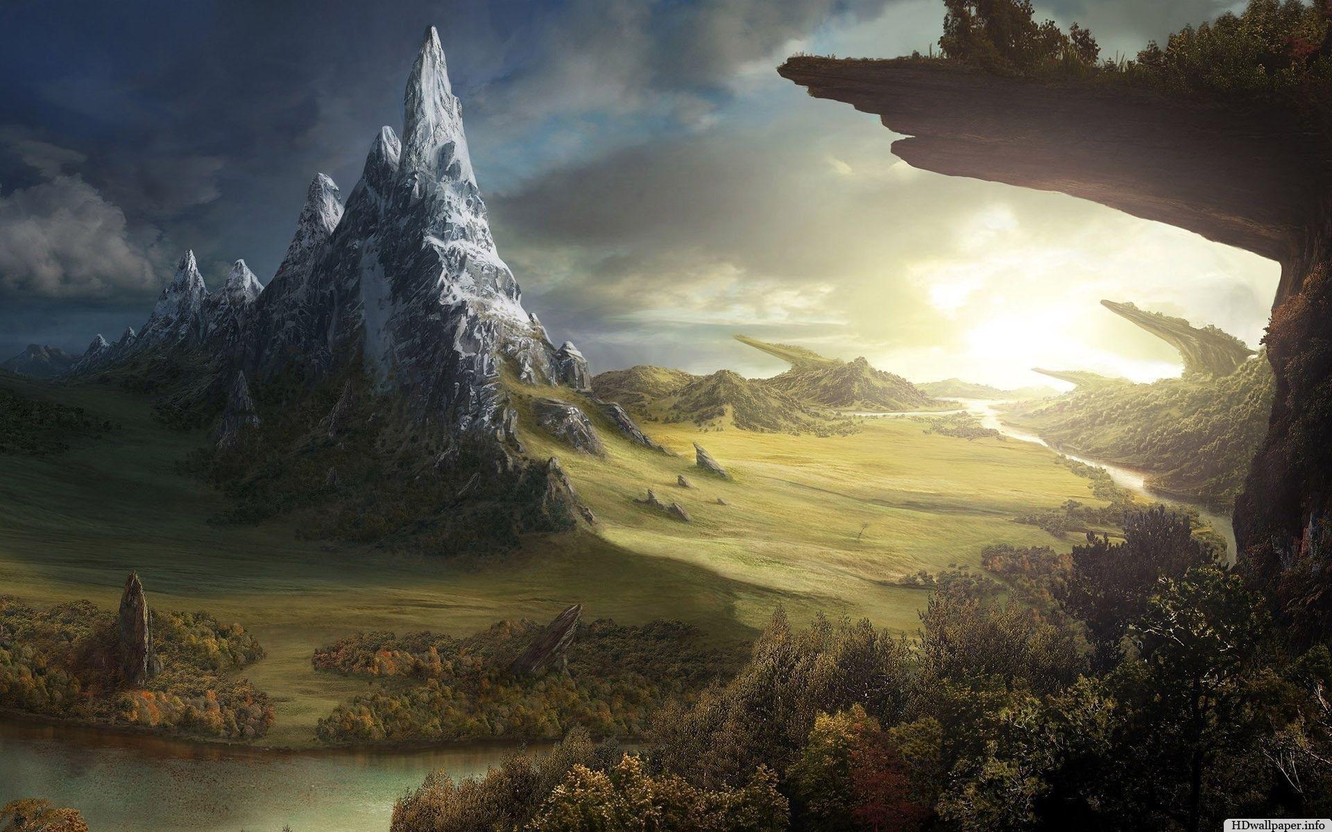 Res: 1920x1200, Beautiful Yggdrasil Full HQ Wallpapers Free Download