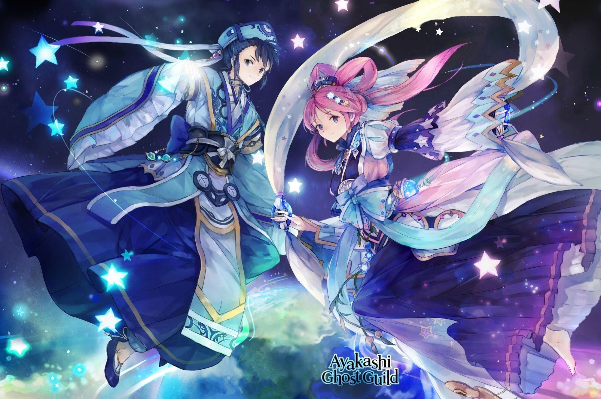Res: 2000x1330, Orihime Hikoboshi Yggdrasil PC Wallpaper.jpeg