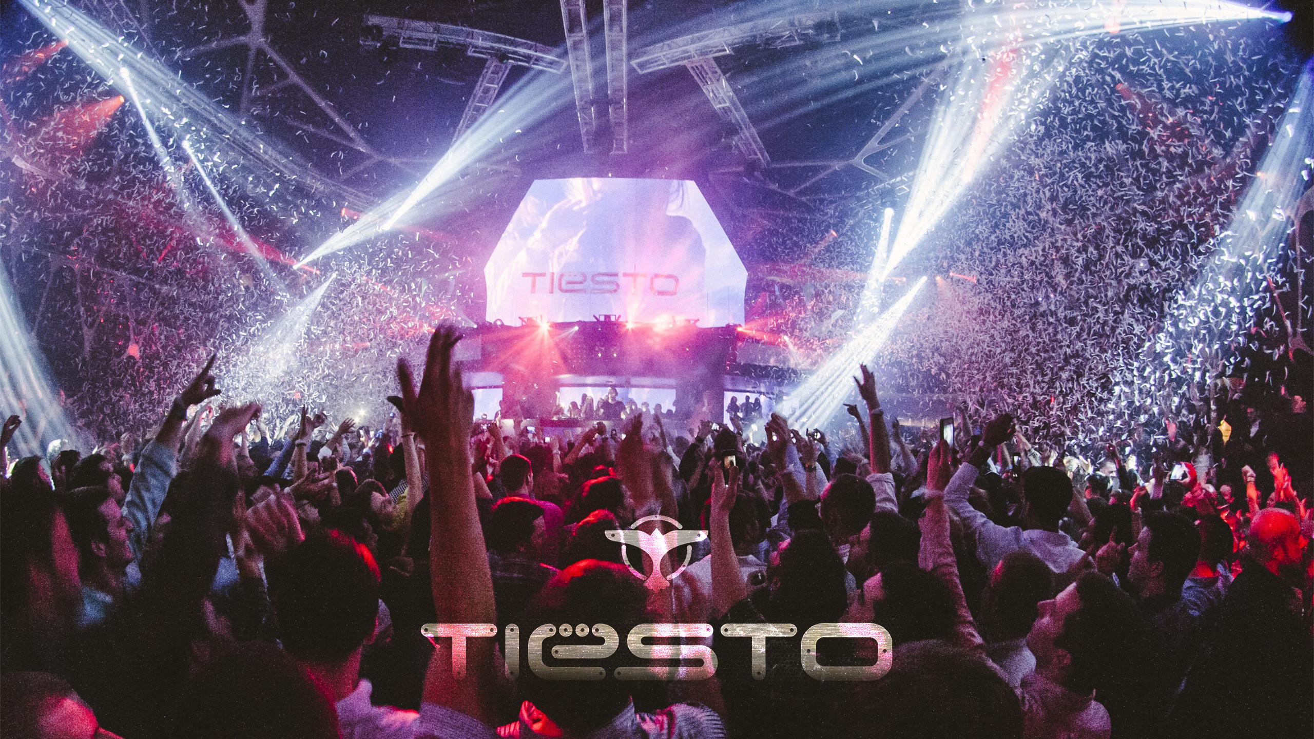 Res: 2560x1440, Tiesto Concert Wallpaper