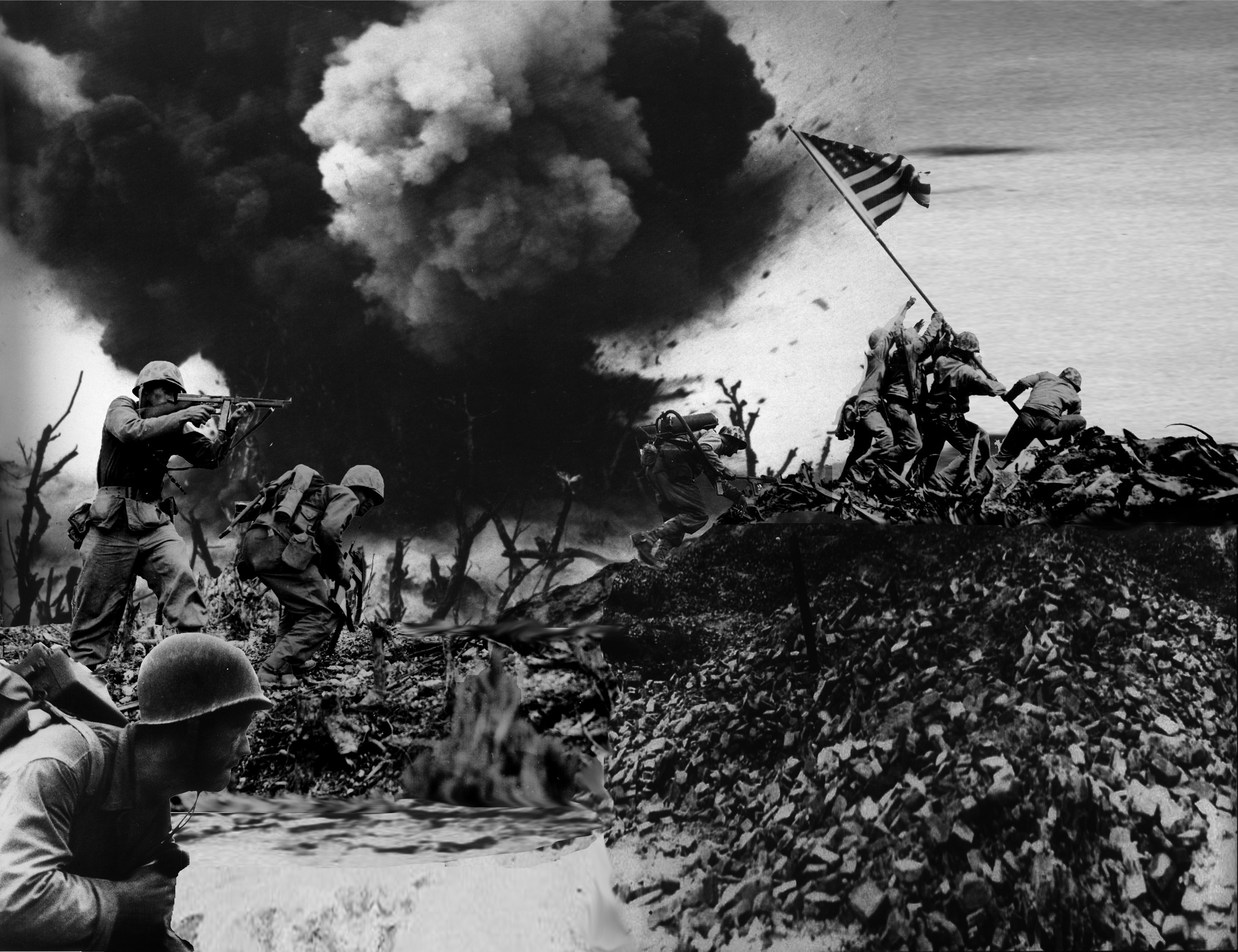 Res: 2600x2000, HQ Battle Of Iwo Jima Wallpapers | File 2354.9Kb