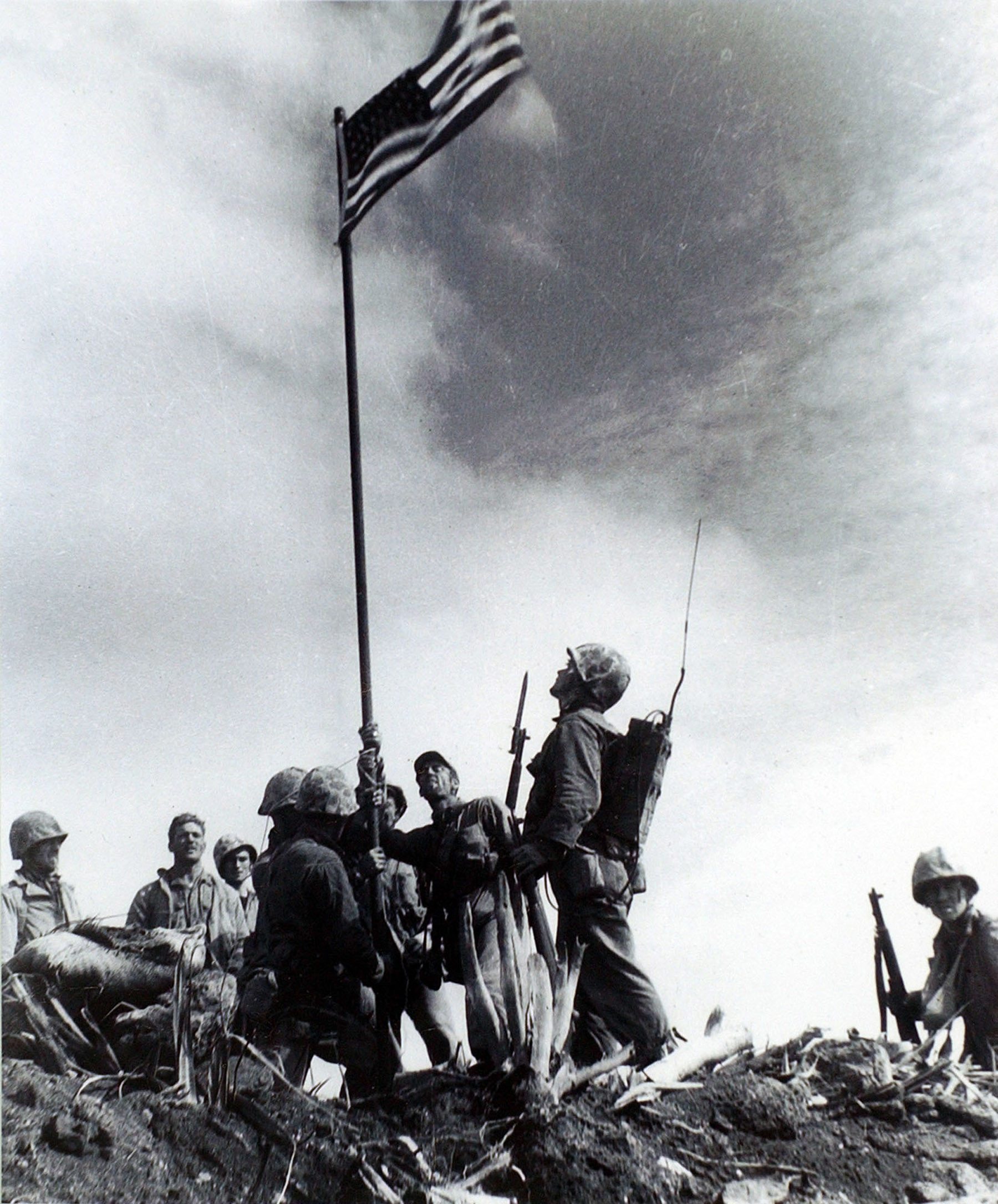 Res: 1800x2170, Iwo Jima: New mystery arises from iconic image - Omaha.com - Omaha  World-Herald