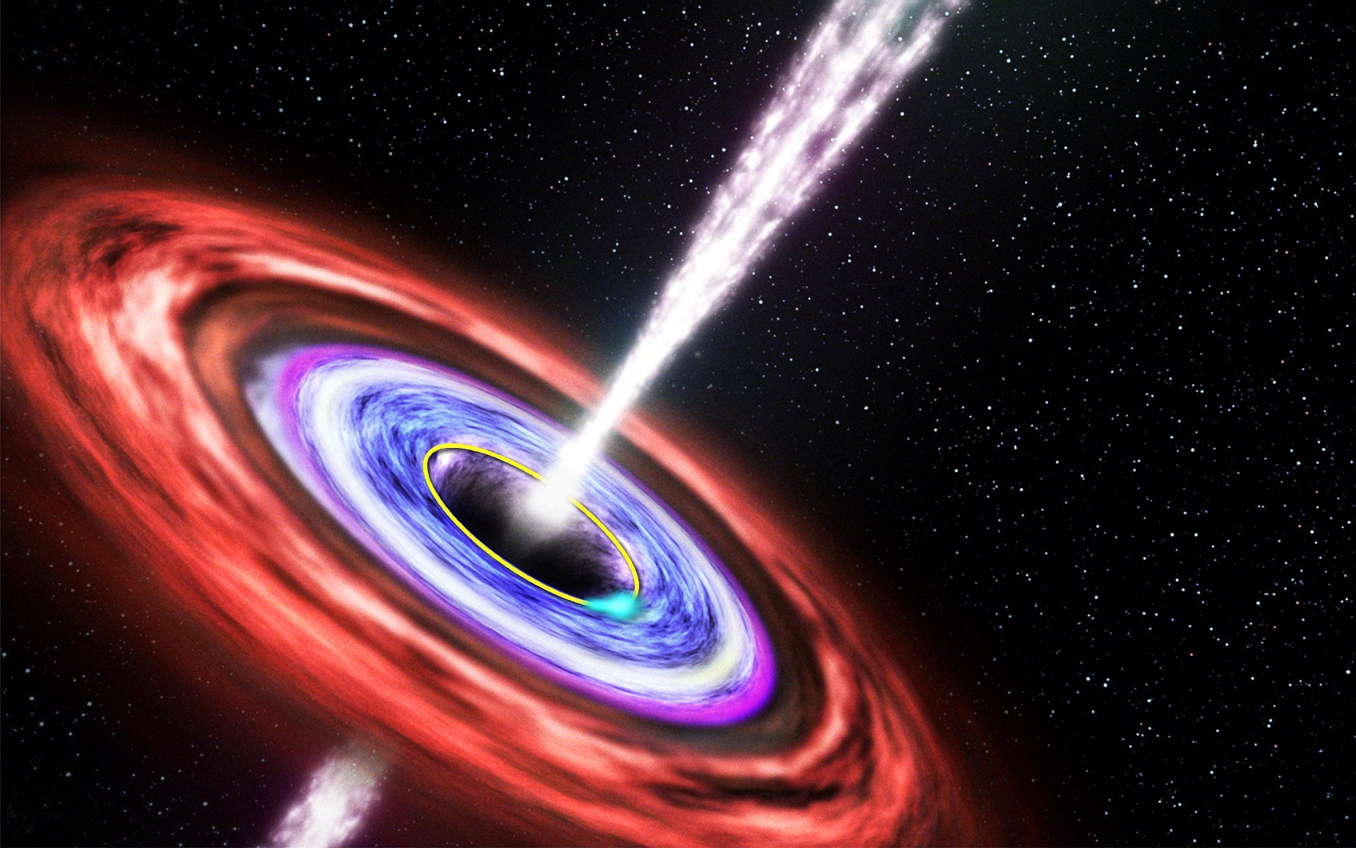 Res: 1920x1200, Black Hole HD Wallpapers 01362