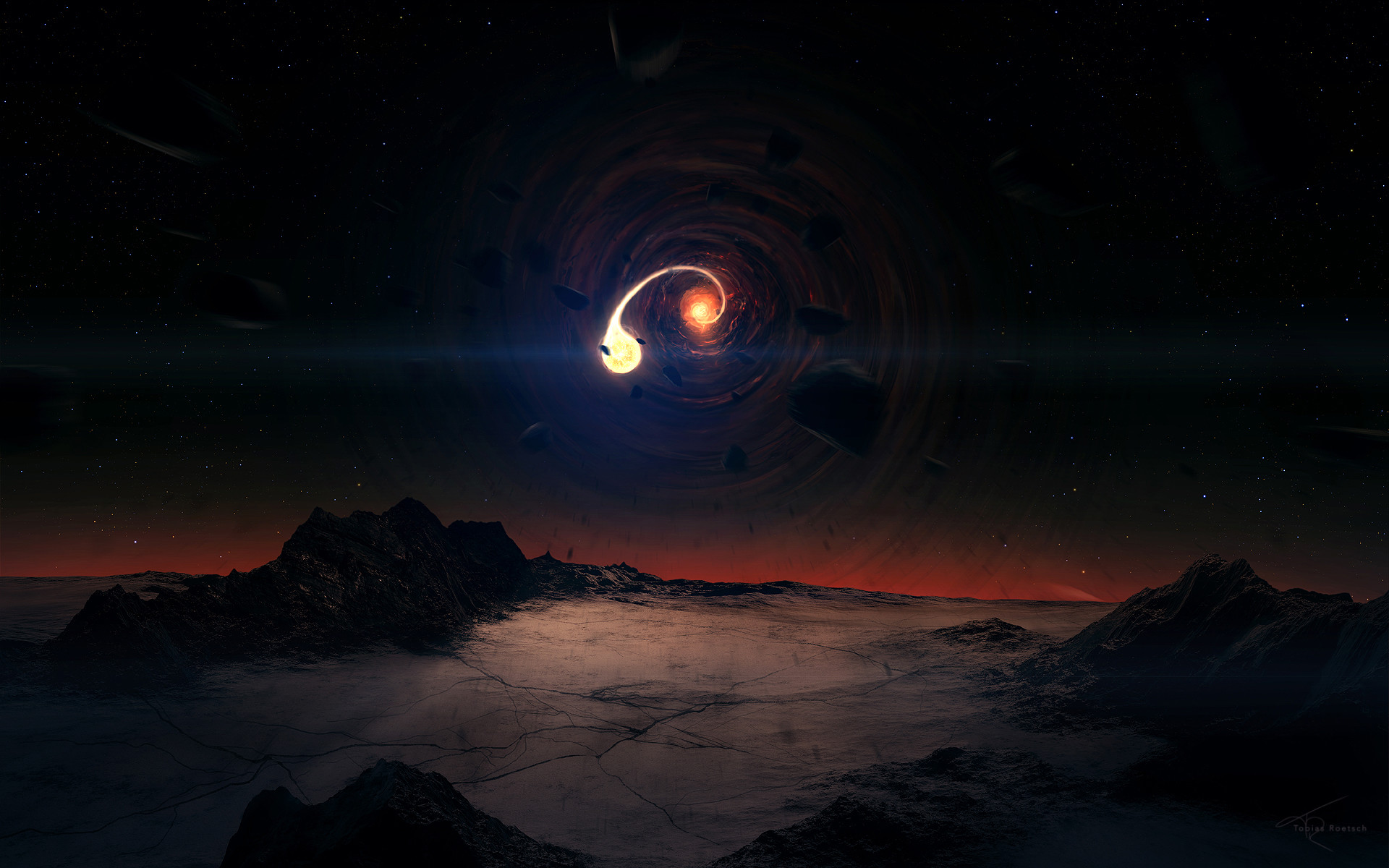 Res: 1920x1200, Author: Tobias Roetsch. Tags: Black Scene Hole