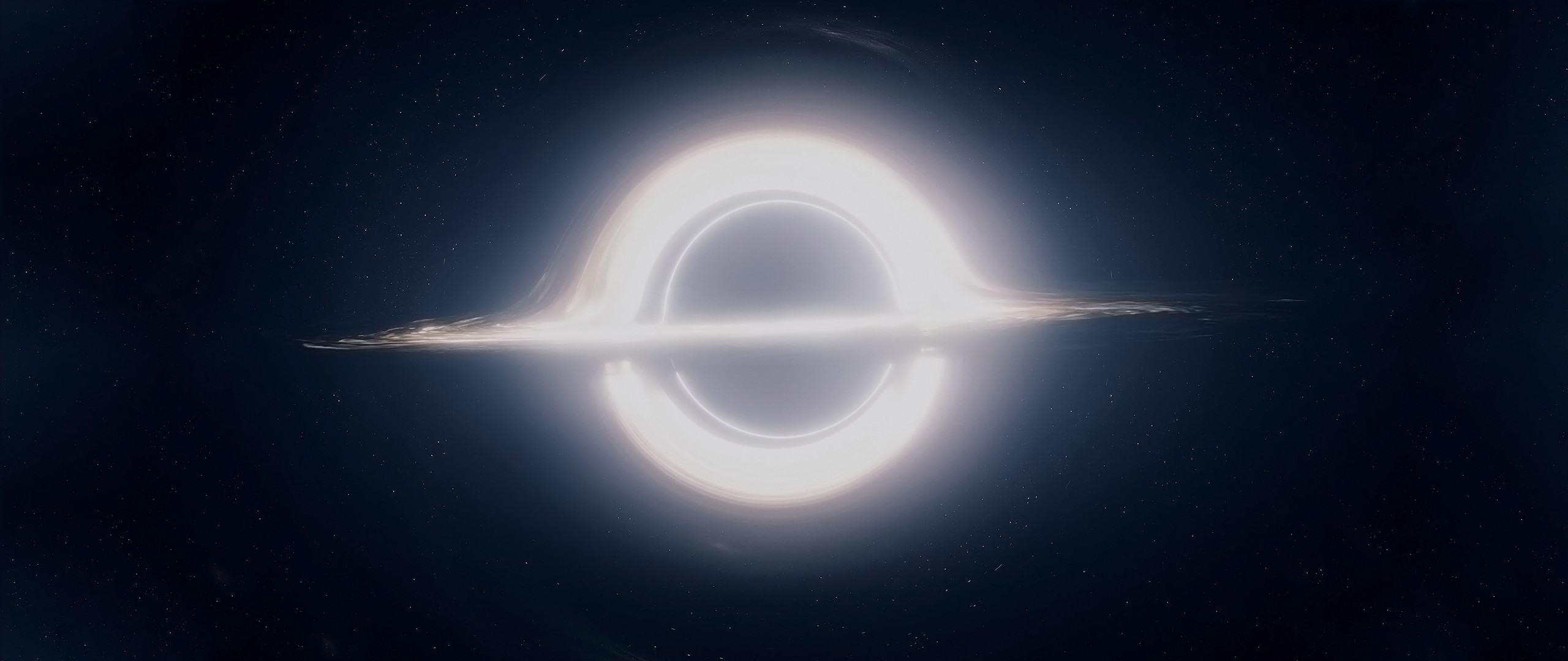 Res: 2560x1080, ... Black Hole Wallpaper Full size