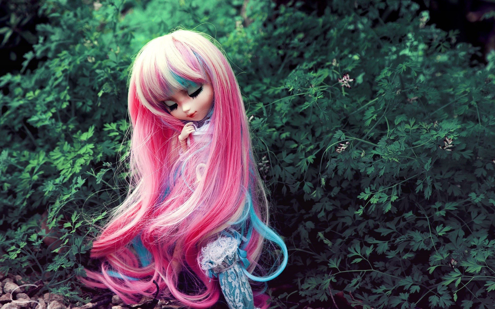 Res: 1920x1200, Long-hair-sweet-barbie-doll