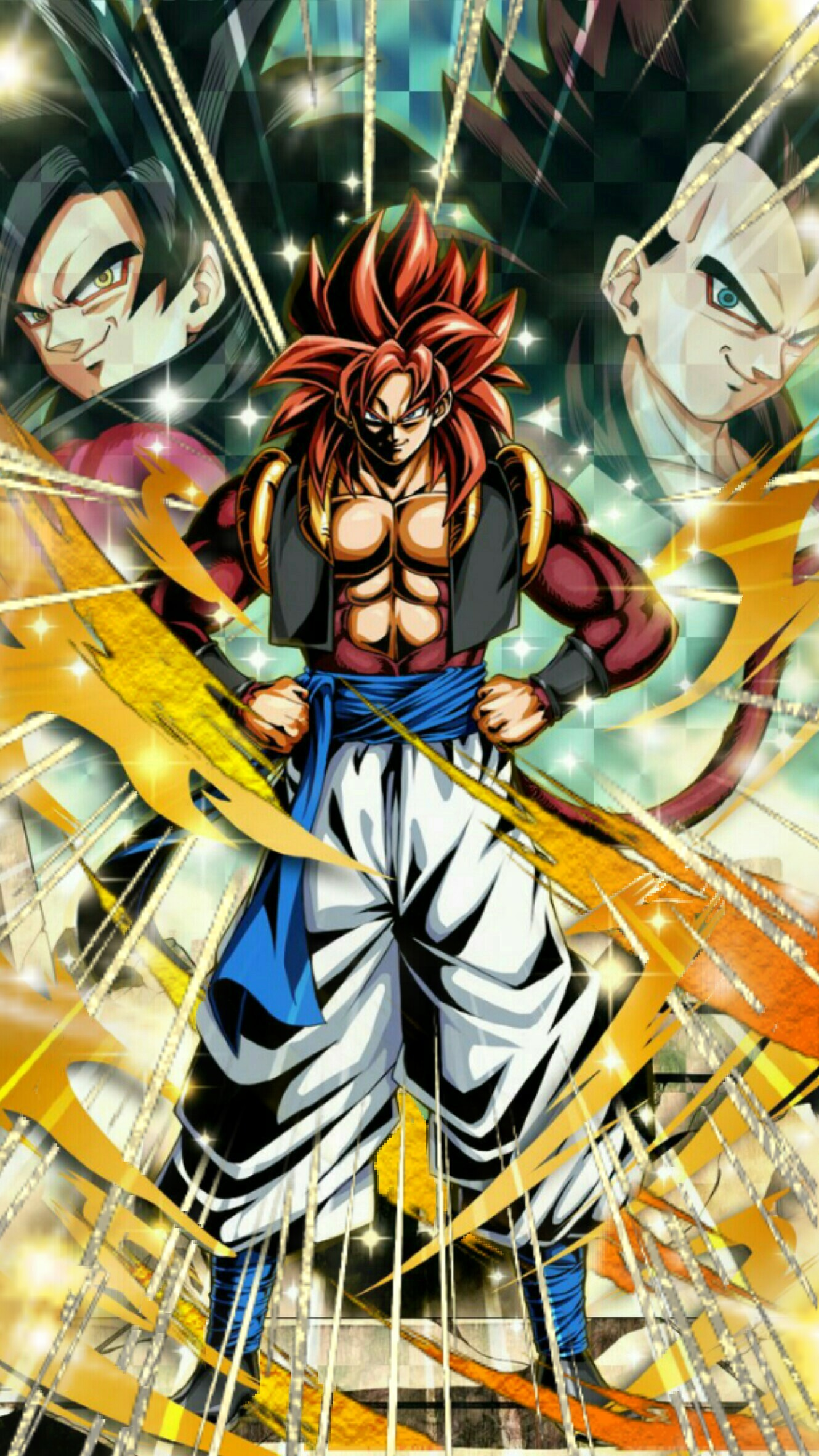 Gogeta Ss4 Wallpapers Hd Wallpaper Collections 4kwallpaper Wiki