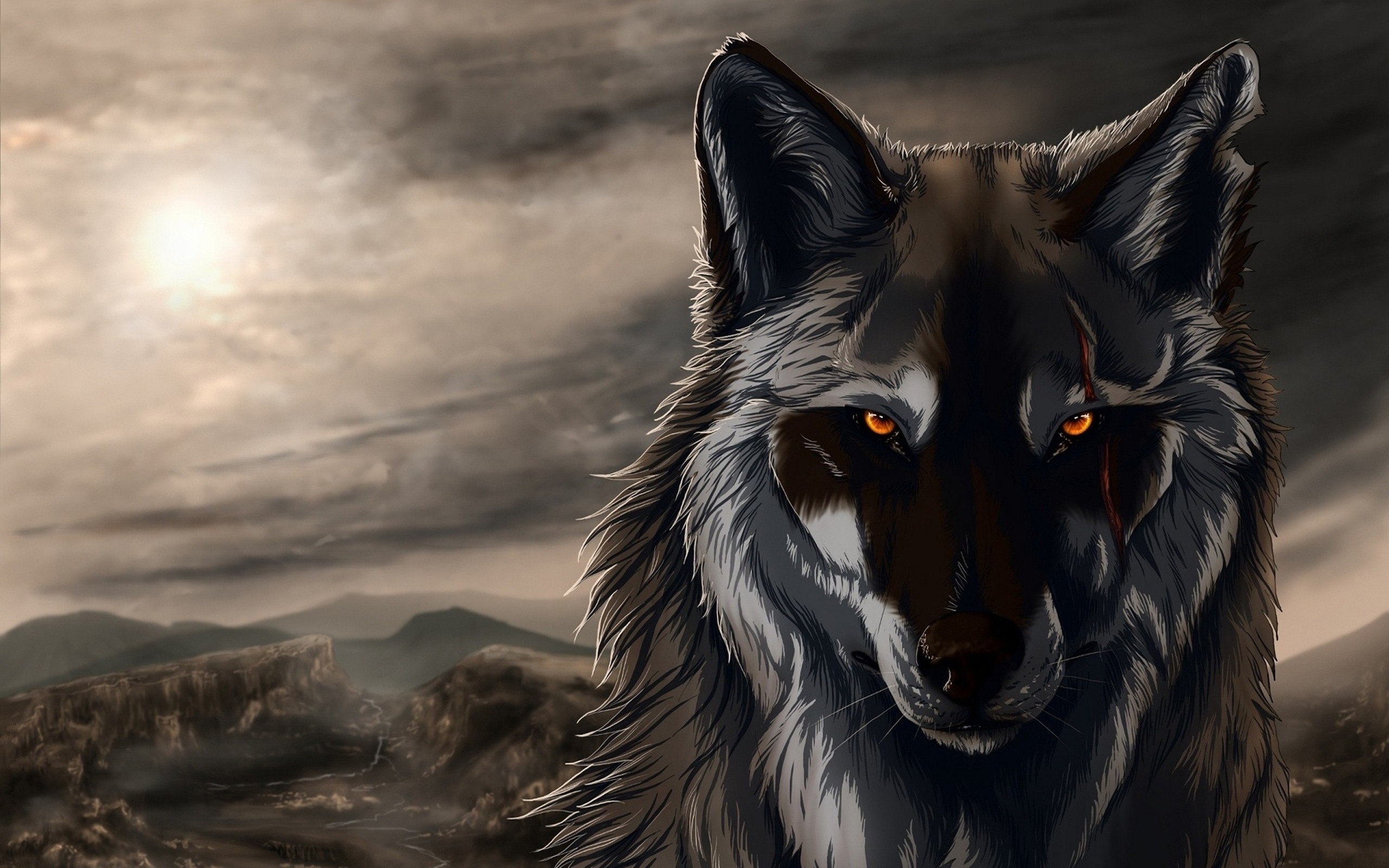 Res: 2560x1600, HD Wallpaper | Background Image ID:318728.  Animal Wolf