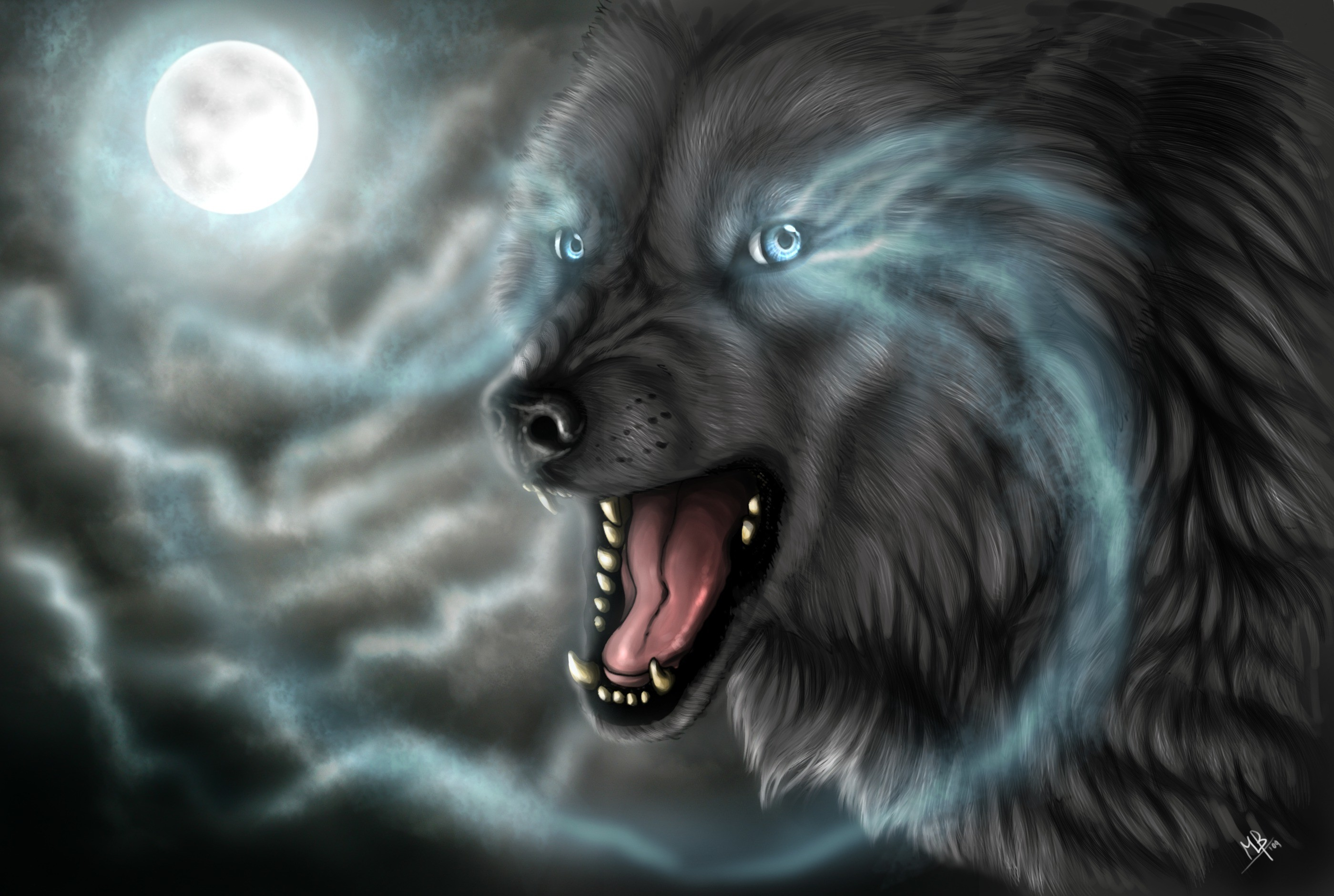 Res: 2799x1880, Wolf HD Wallpaper