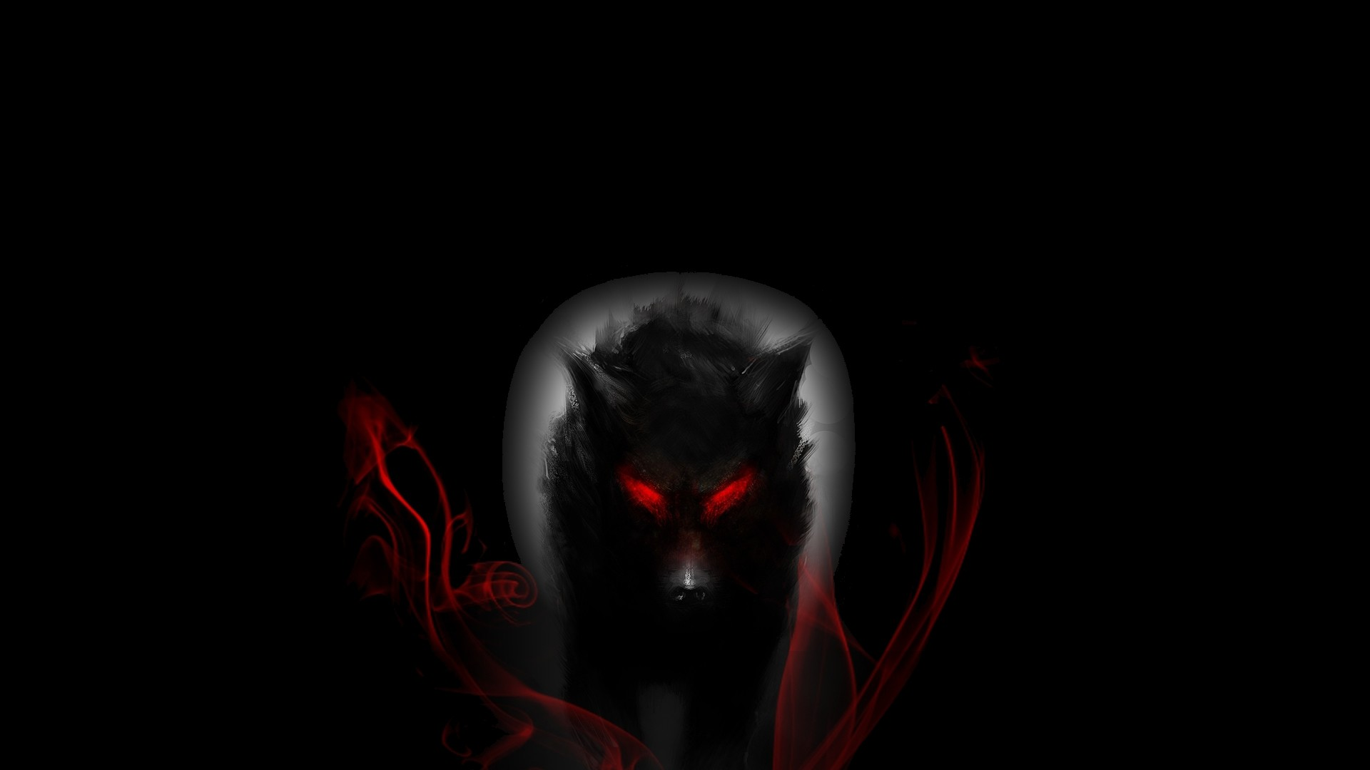 Res: 1920x1080, Fantasy - Wolf Wallpaper