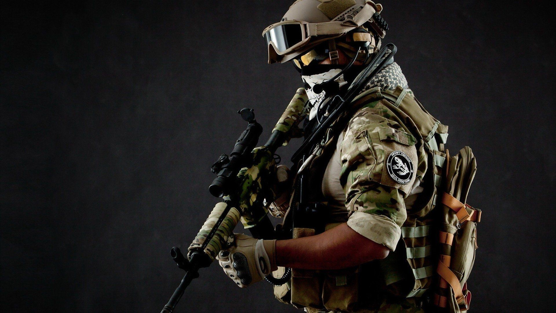 Res: 1920x1080, Military Soldier Wallpaper