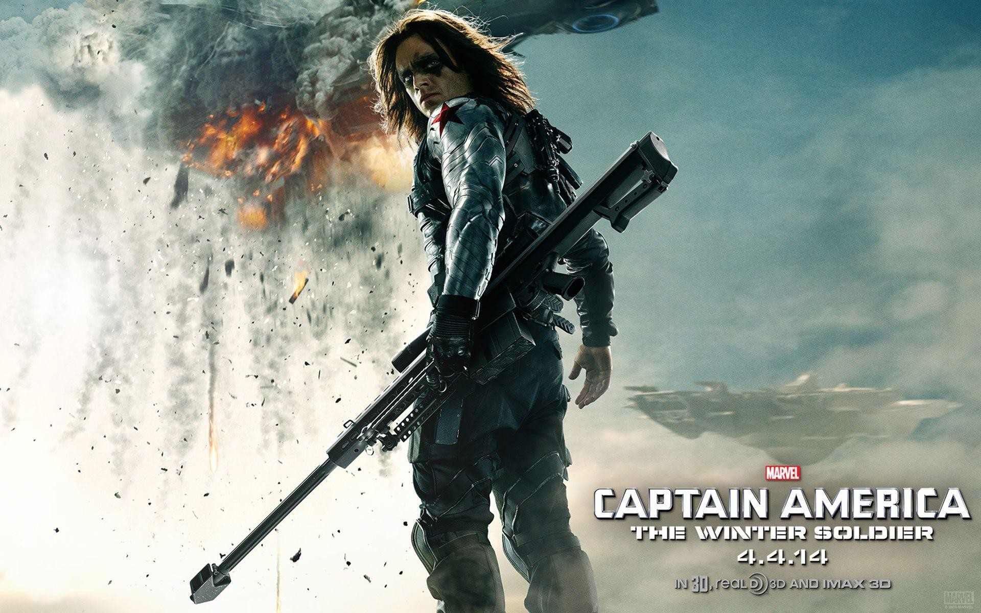 Res: 1920x1200, Captain America: The Winter Soldier HD Wallpapers & Facebook Covers