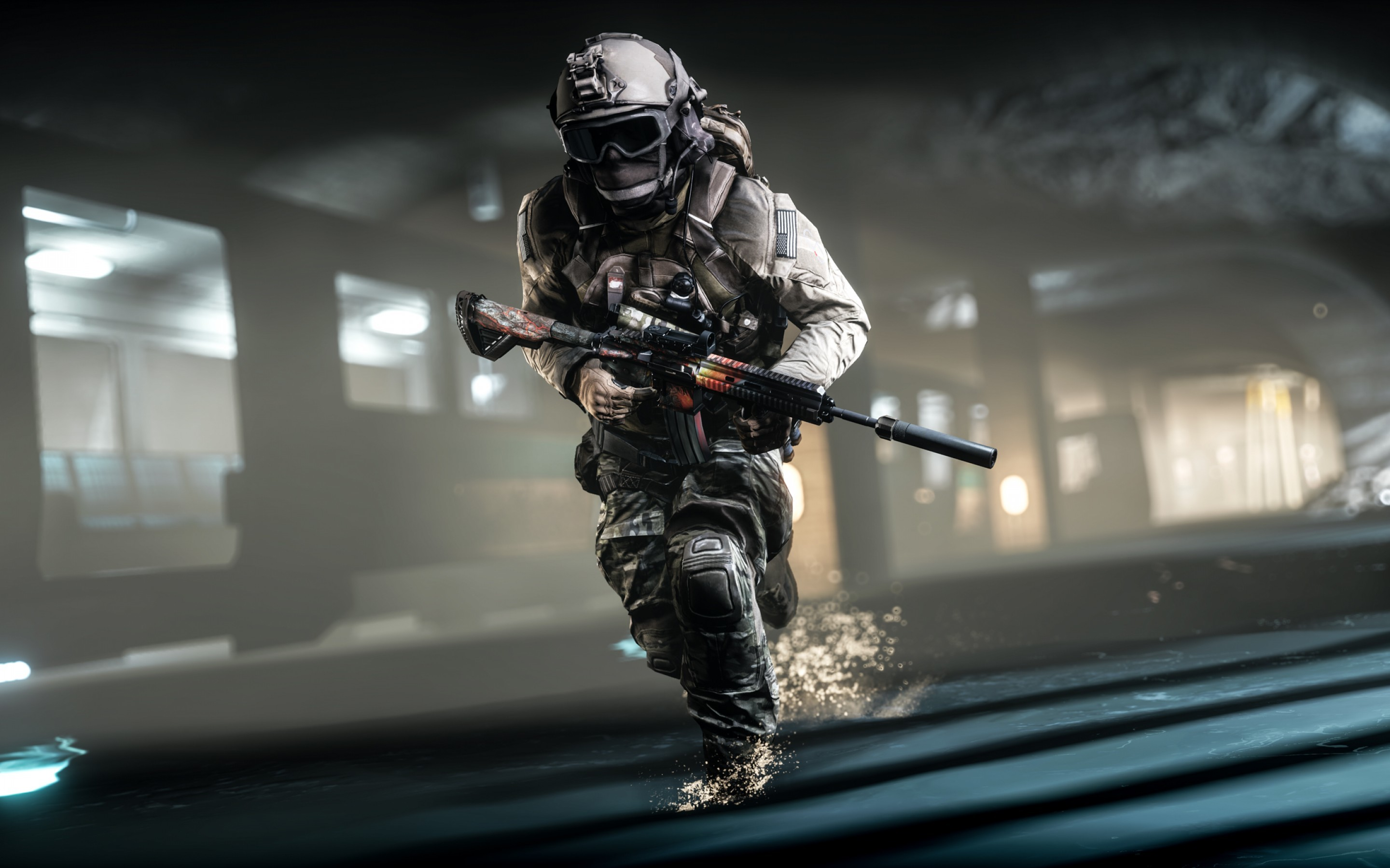 Res: 2880x1800, Games / Soldier Wallpaper