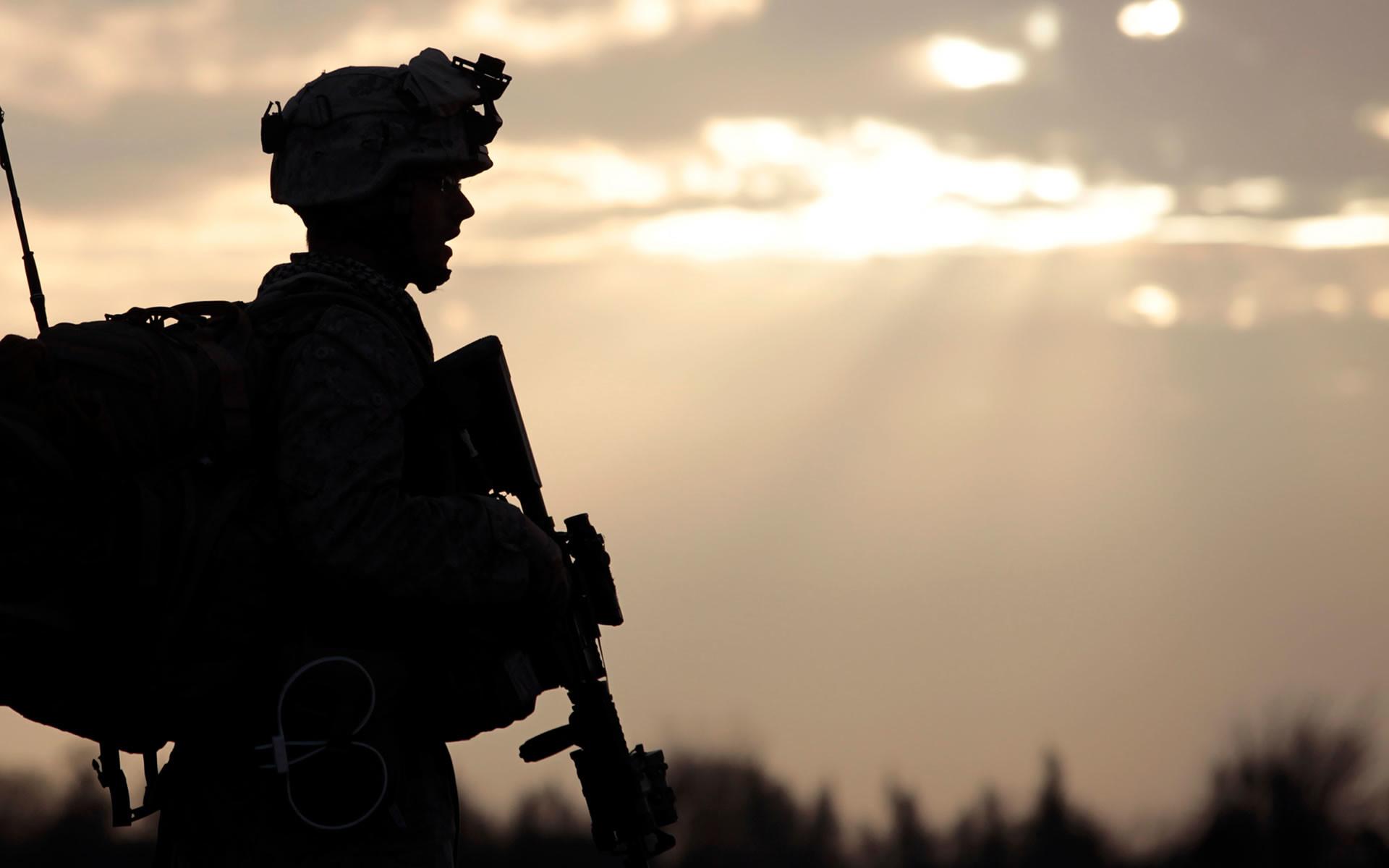Res: 1920x1200, American Soldier in Afghanistan