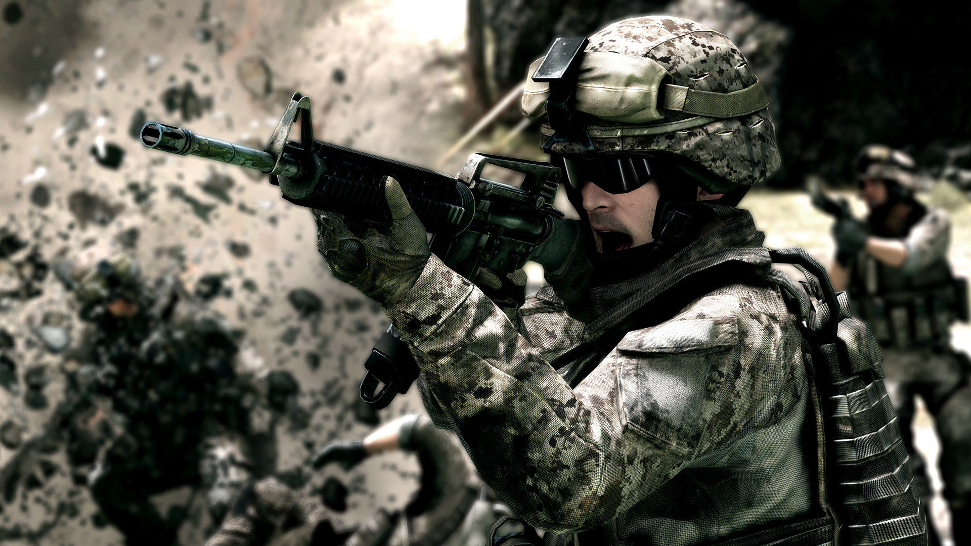 Res: 1920x1080,  Army Soldier Wallpaper