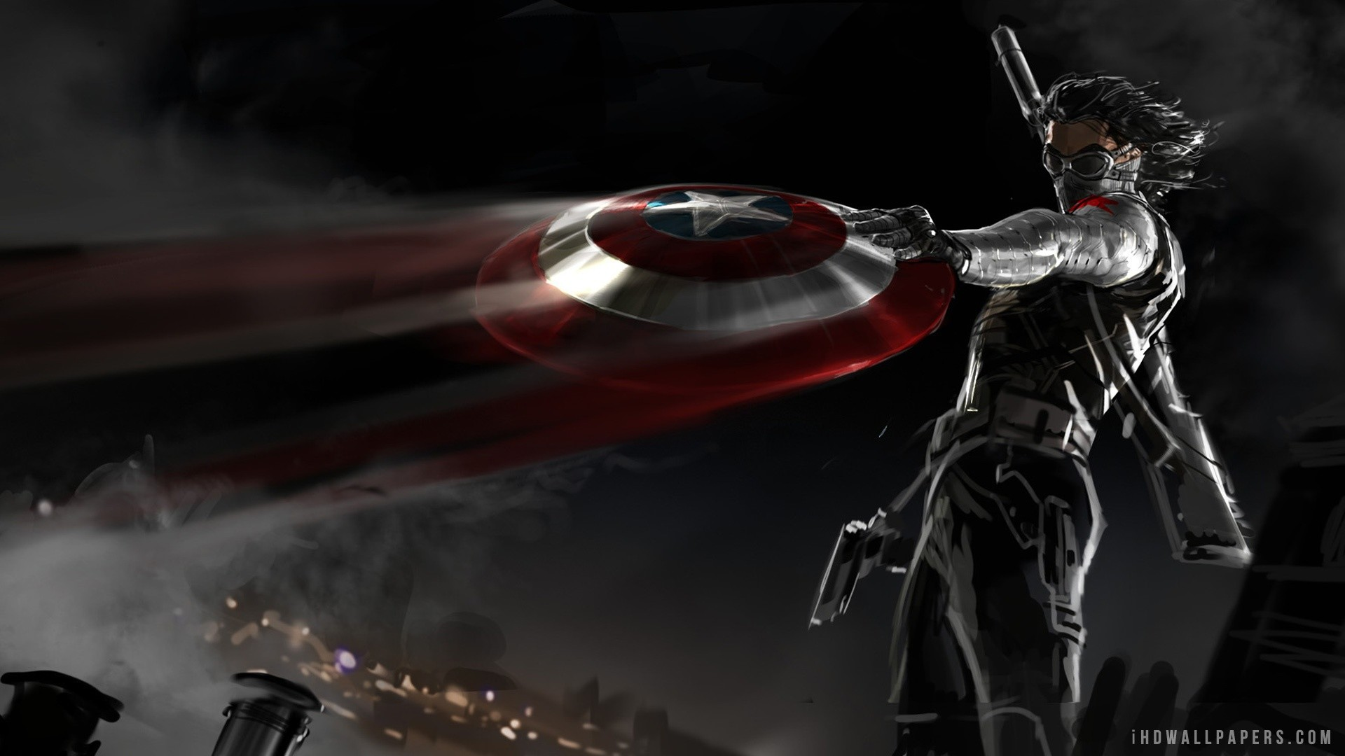 Res: 1920x1080, 79 Captain America: The Winter Soldier HD Wallpapers | Backgrounds .
