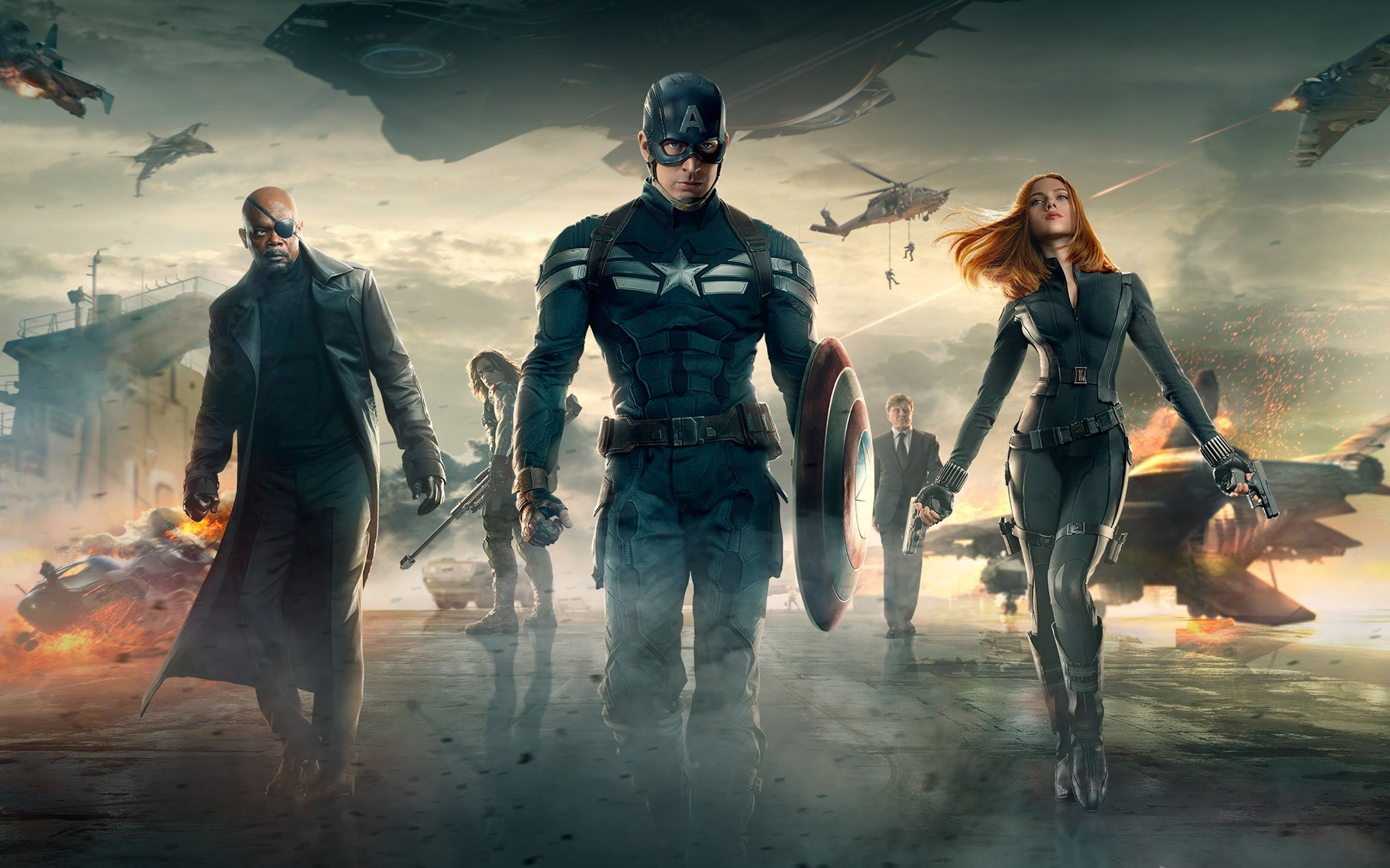 Res: 2880x1800, Captain America: The Winter Soldier Wallpapers