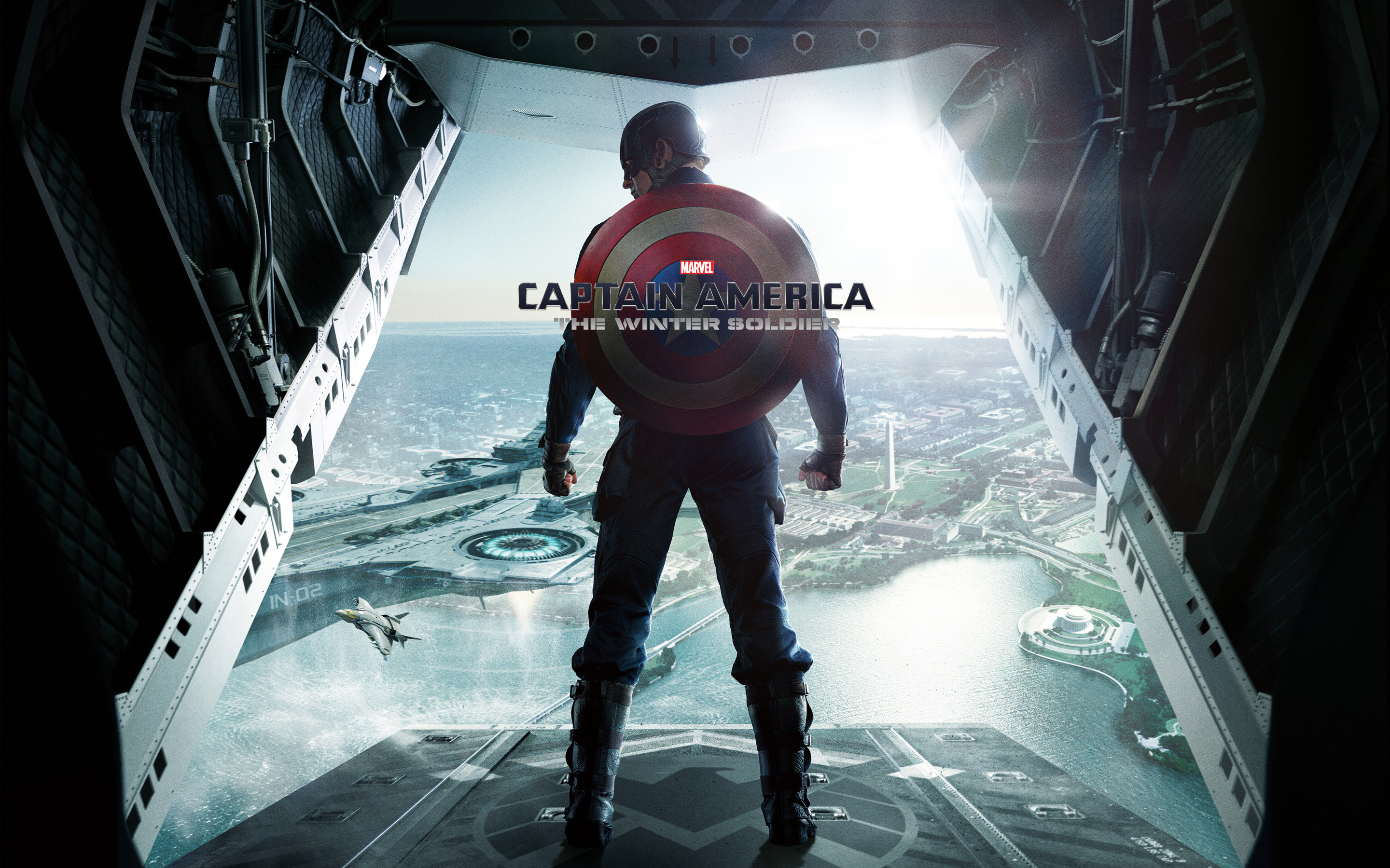 Res: 2880x1800, Captain America The Winter Soldier Wallpaper